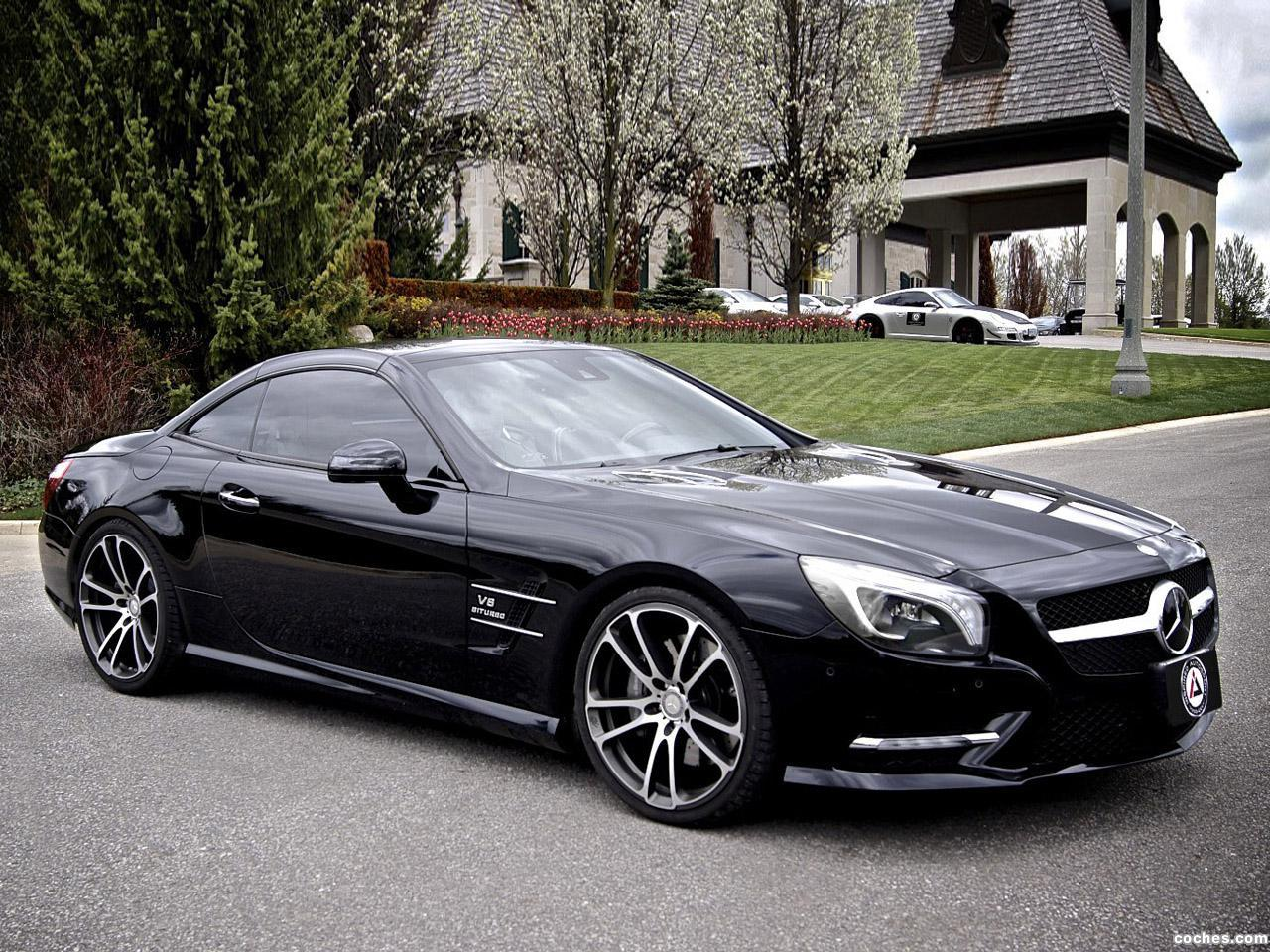 Foto 0 de Brabus Mercedes SL550 by Inspired Autosport 2014
