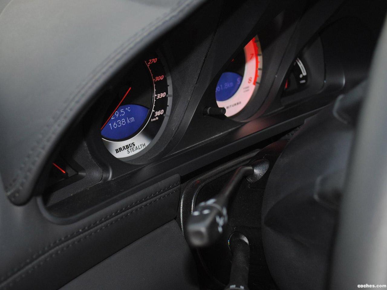 Foto 4 de Mercedes brabus SL65 AMG Black Series Stealth T65 RS 2010