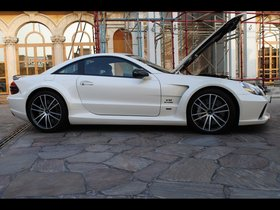 Ver foto 4 de Mercedes brabus SL65 AMG Black Series Stealth T65 RS 2010