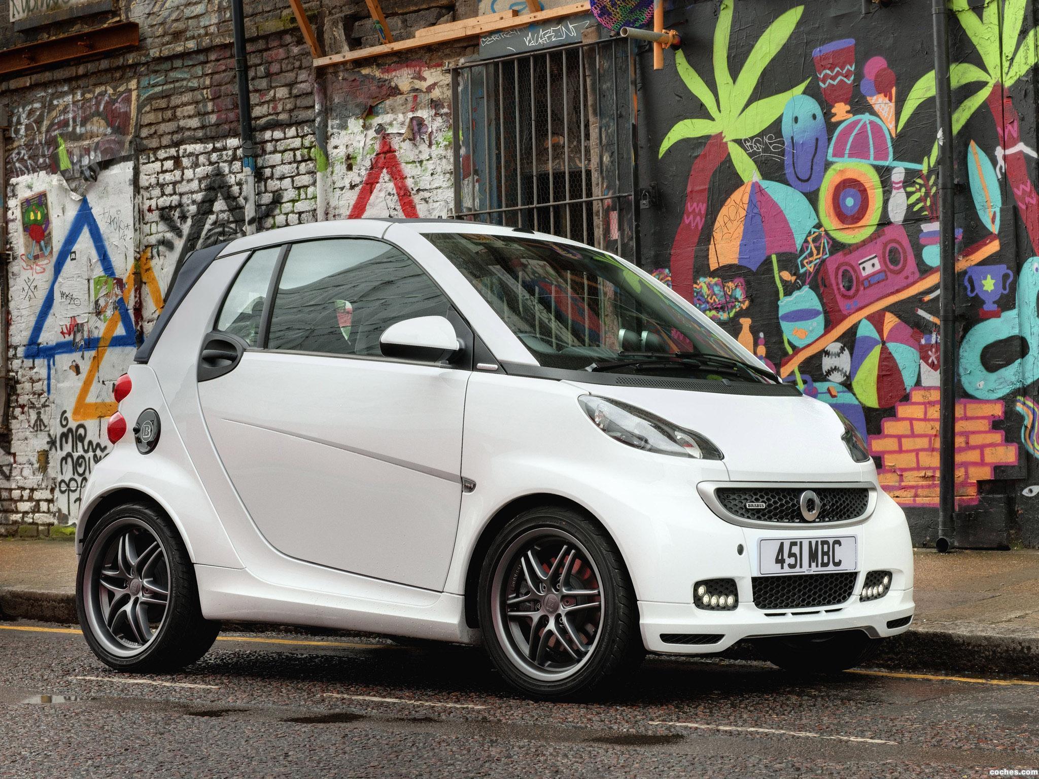 Foto 0 de Smart Brabus ForTwo Cabrio UK 2012