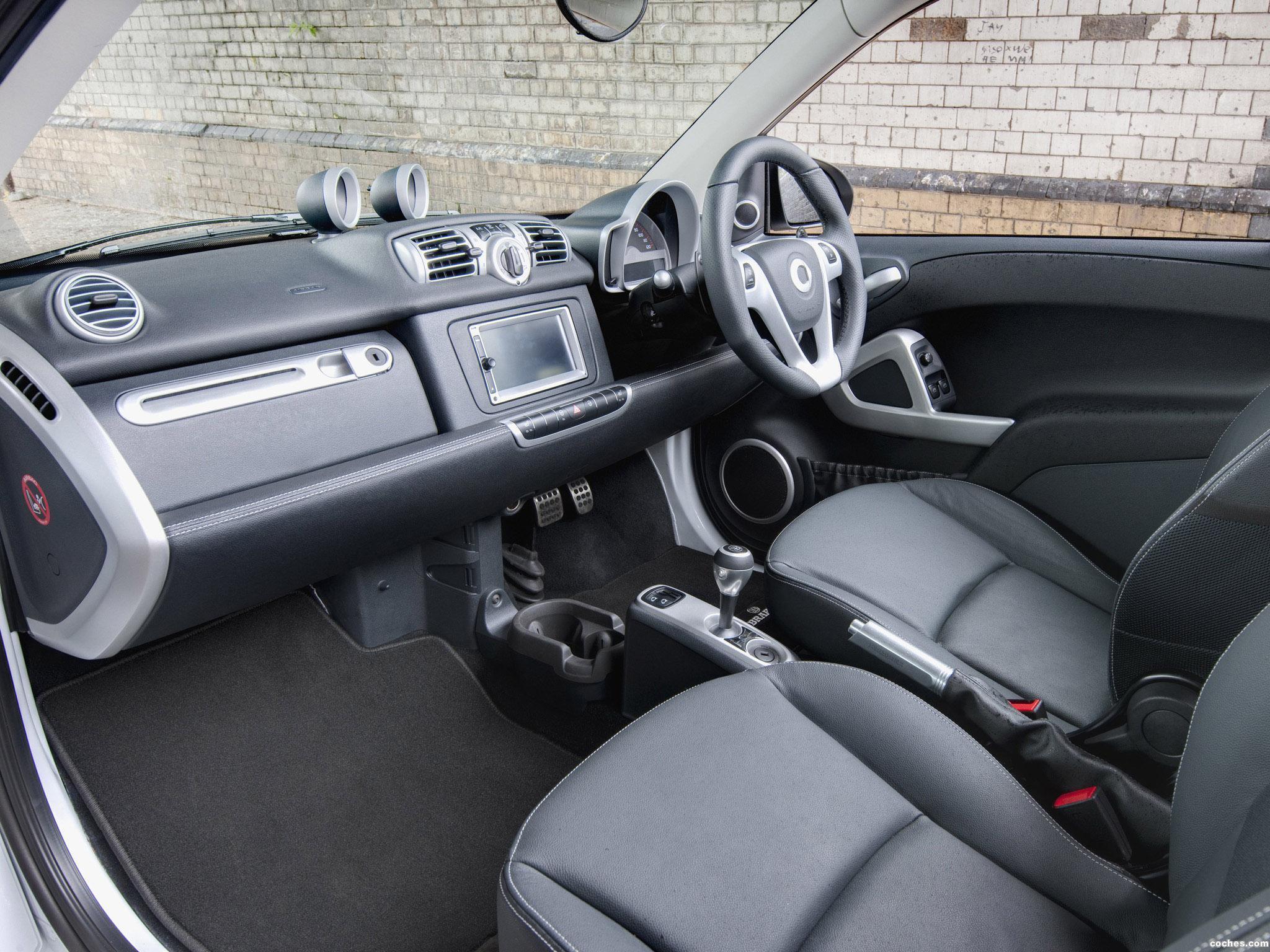 Foto 7 de Smart Brabus ForTwo Cabrio UK 2012