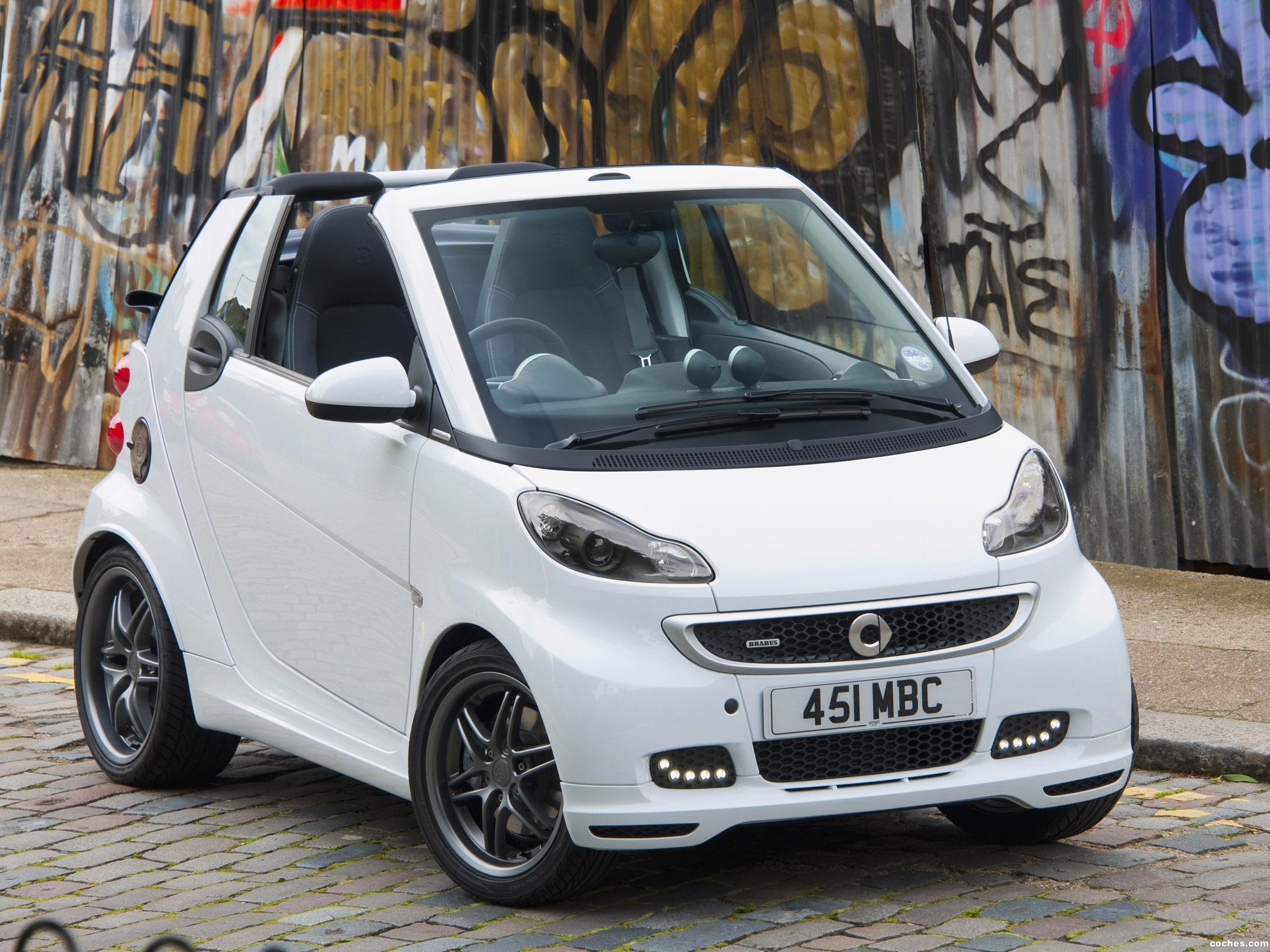 Foto 3 de Smart Brabus ForTwo Cabrio UK 2012