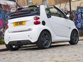 Ver foto 3 de Smart Brabus ForTwo Cabrio UK 2012