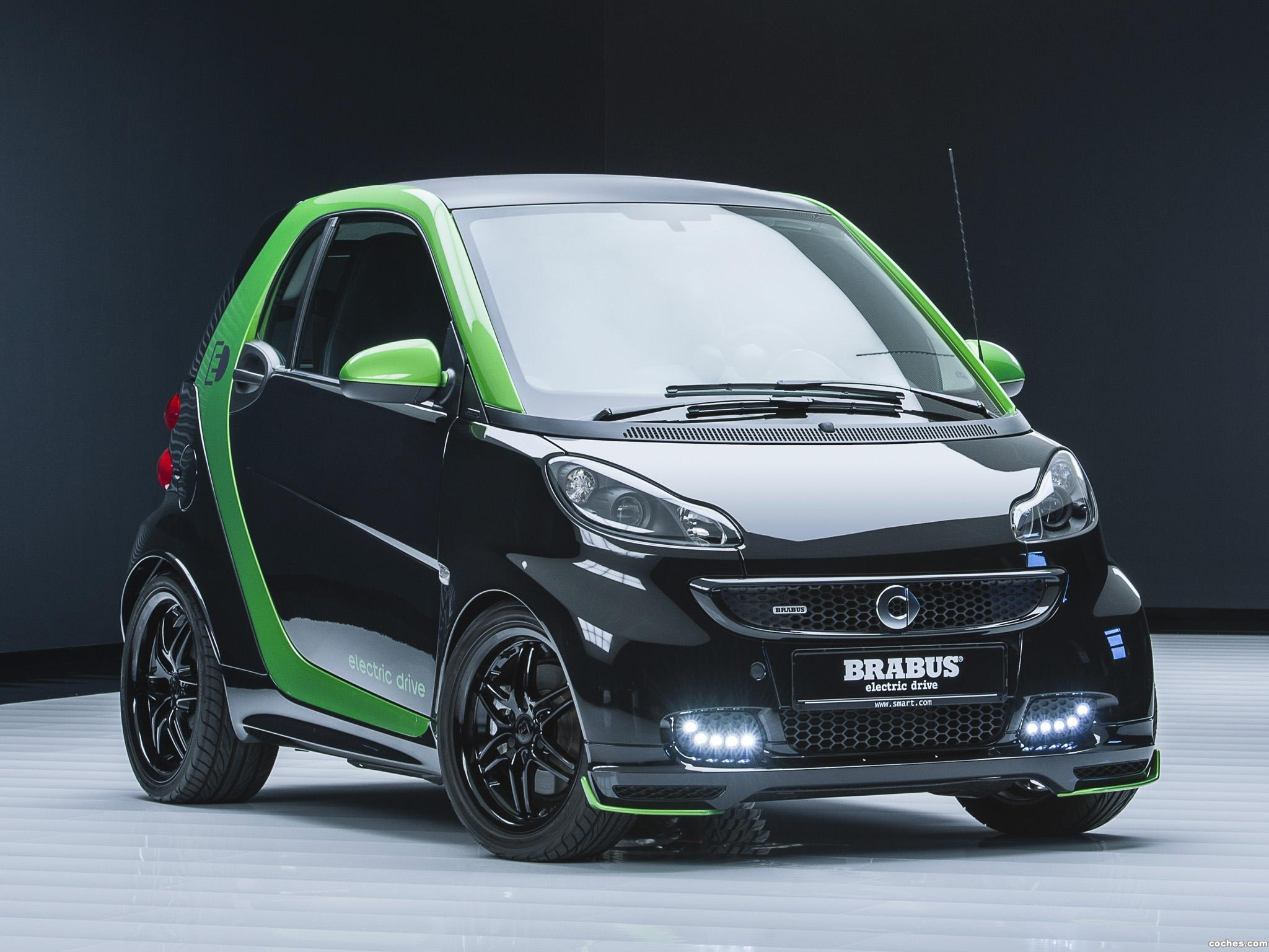 Foto 0 de Brabus Smart ForTwo Electric Drive Coupe 2012
