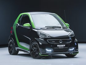 Ver foto 1 de Brabus Smart ForTwo Electric Drive Coupe 2012