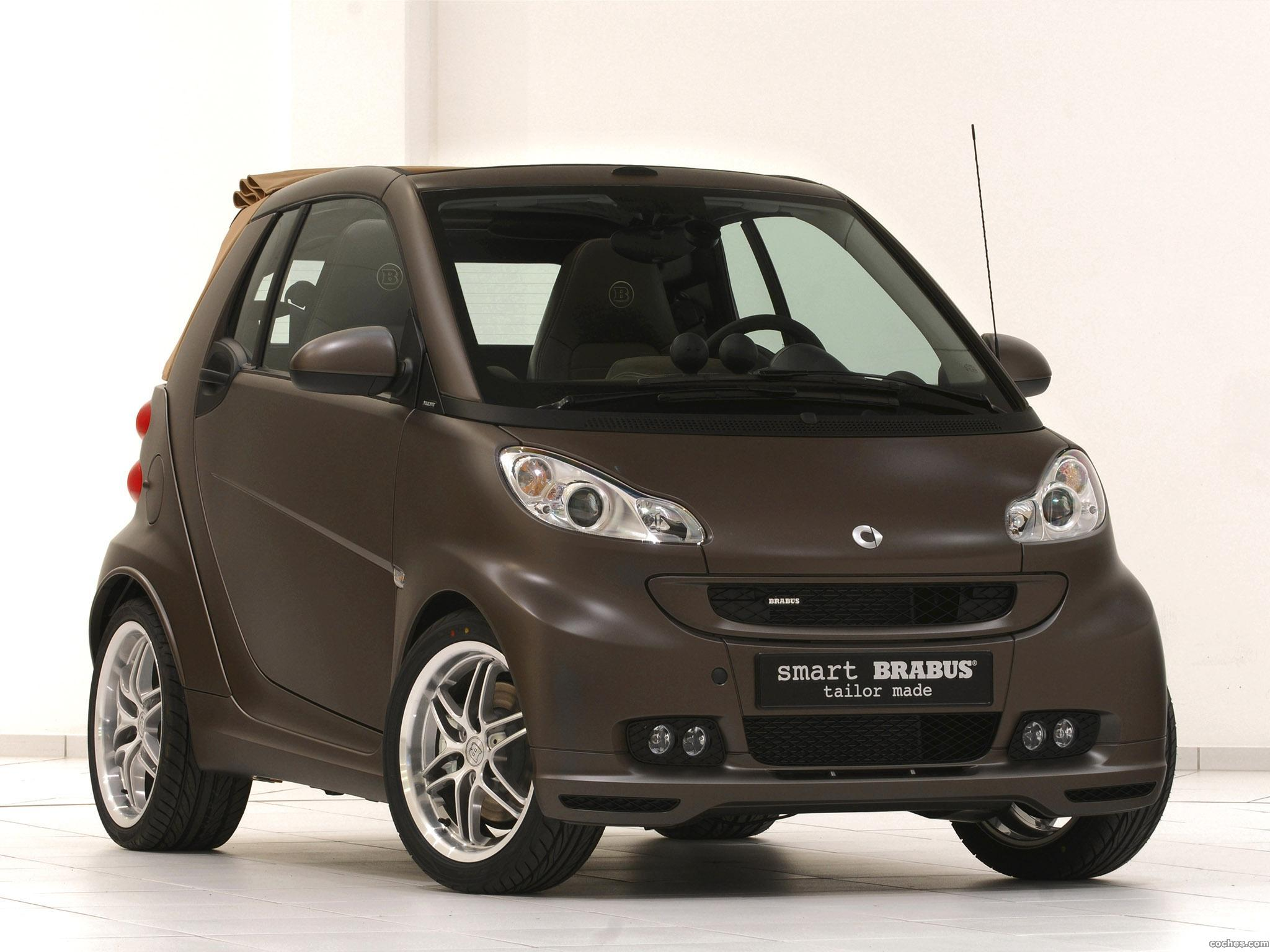 Foto 0 de Smart Brabus ForTwo Tailor Made Brown 2010