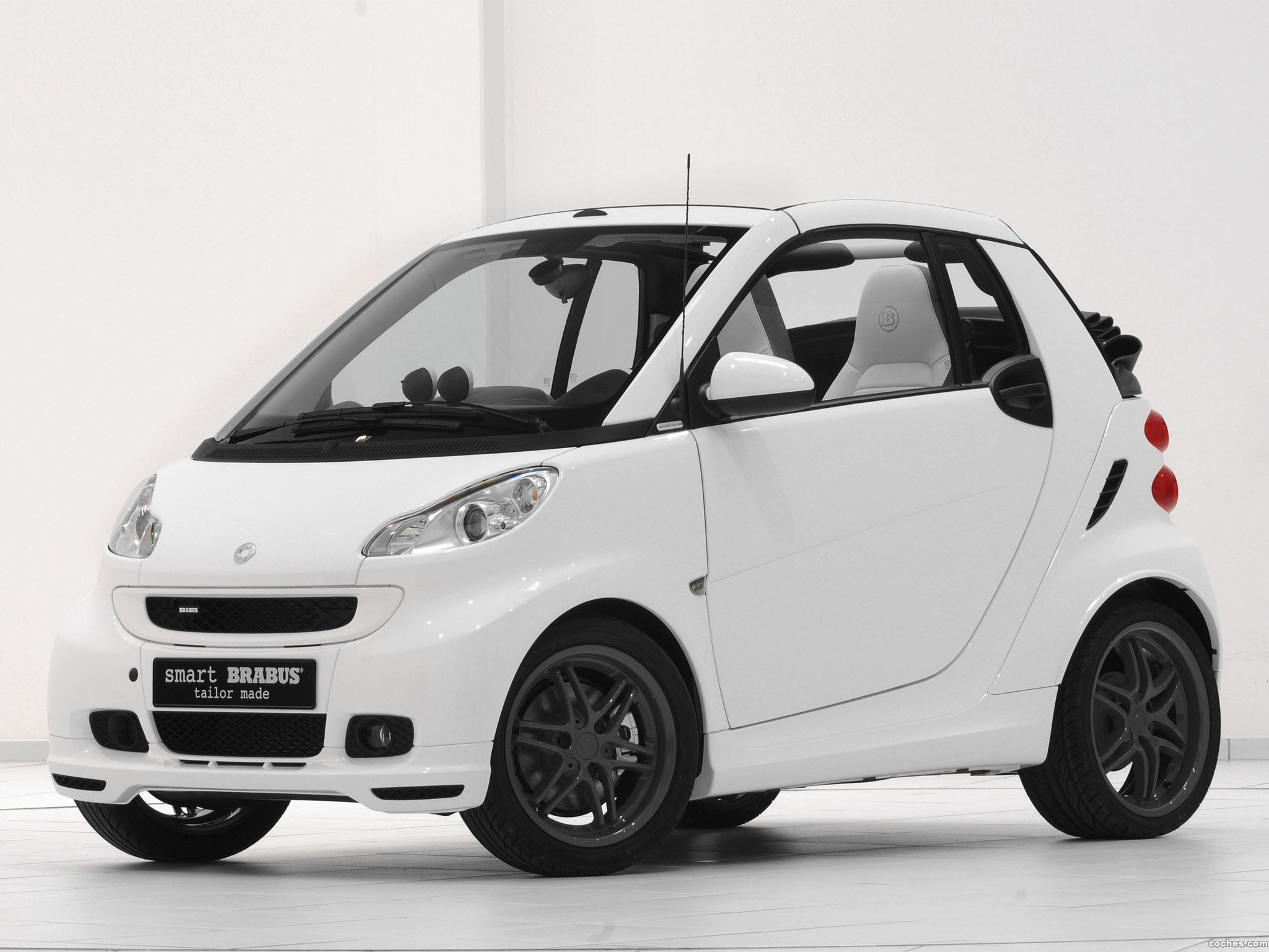 Foto 0 de Smart Brabus ForTwo Tailor Made Cabrio White 2010