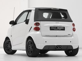 Ver foto 2 de Smart Brabus ForTwo Tailor Made Cabrio White 2010