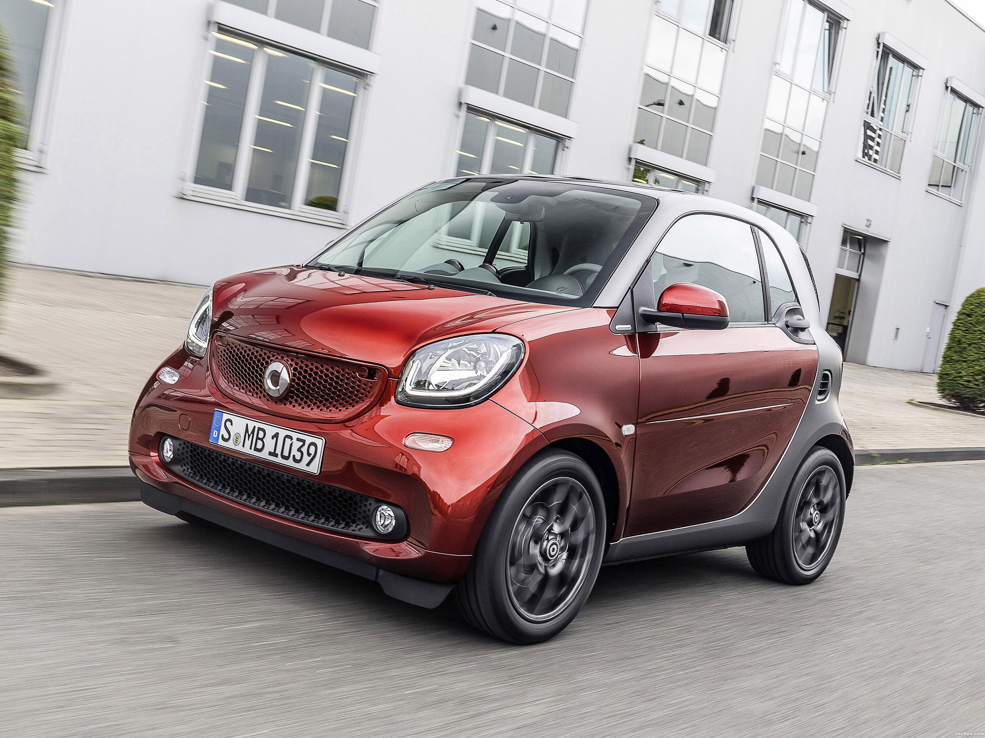 Foto 0 de Brabus Smart ForTwo Tailor Made Coupe C453 2015