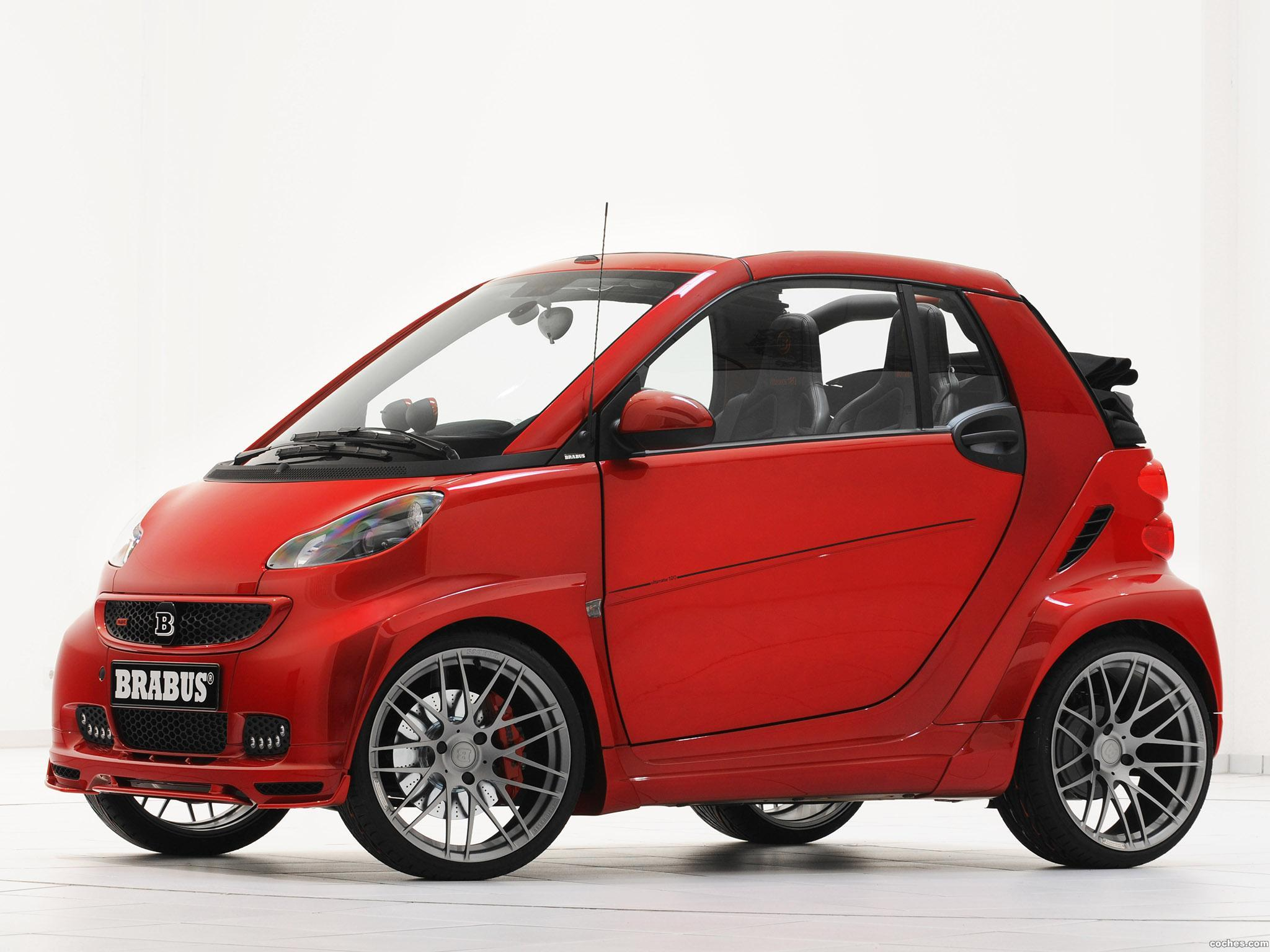 Foto 1 de Smart Brabus ForTwo Ultimate 120 2012