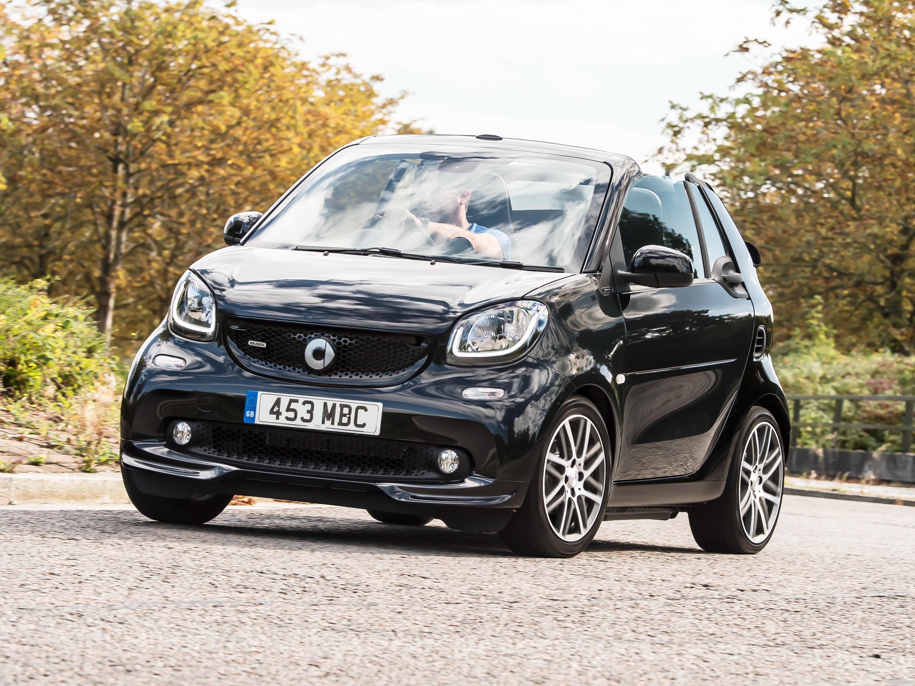 Foto 0 de Brabus Smart ForTwo Xclusive Cabrio A453 UK 2016