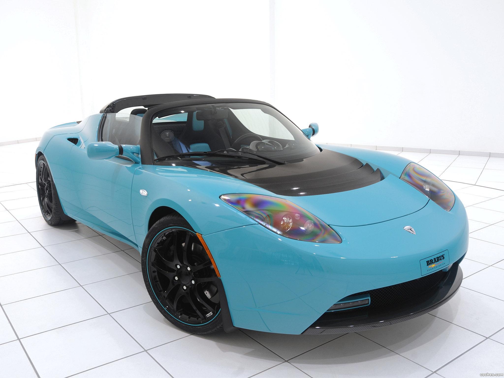 Foto 0 de Tesla Brabus Sport Green Package 2010