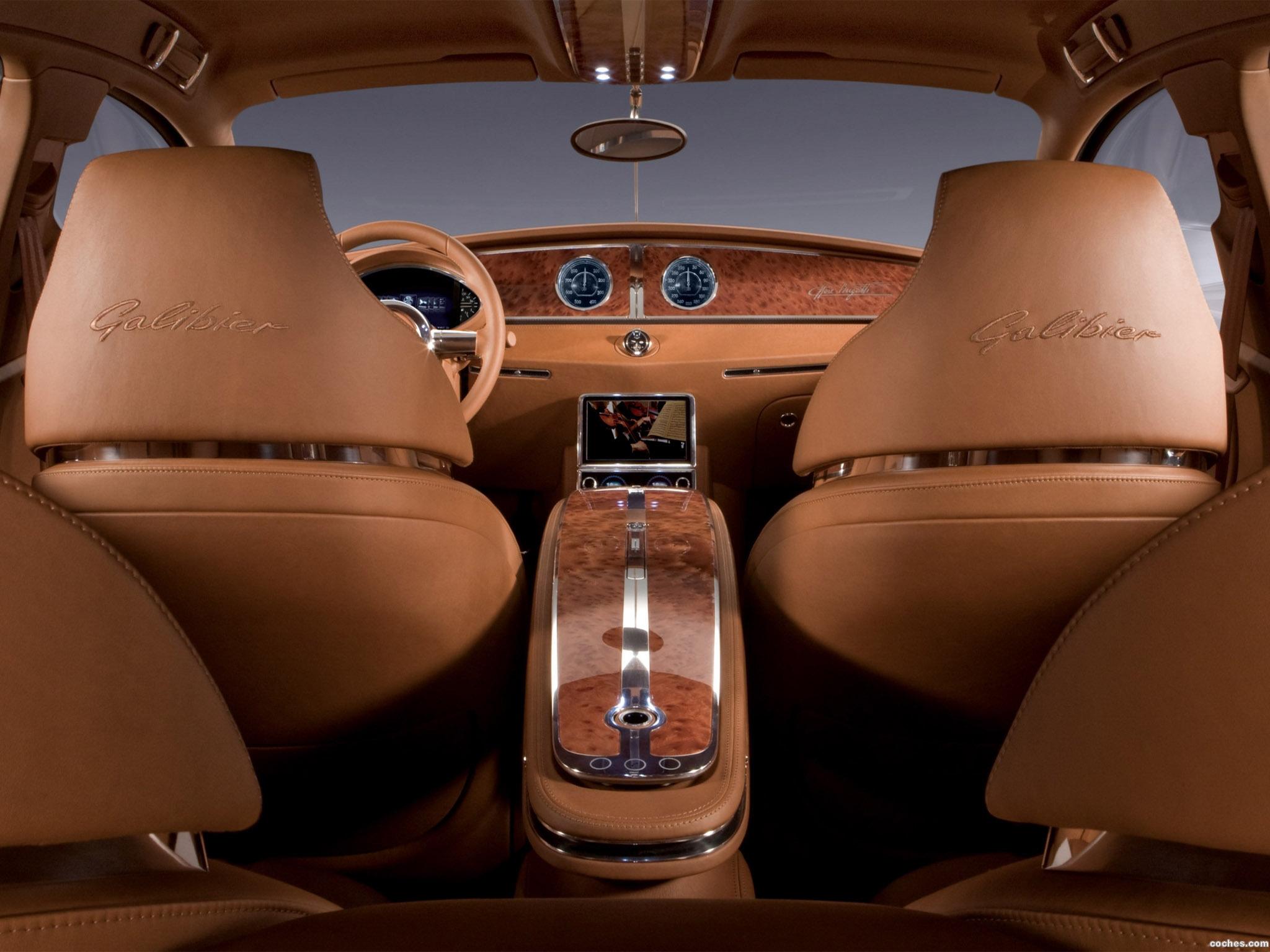 Foto 4 de Bugatti 16C Galibier Concept 2009