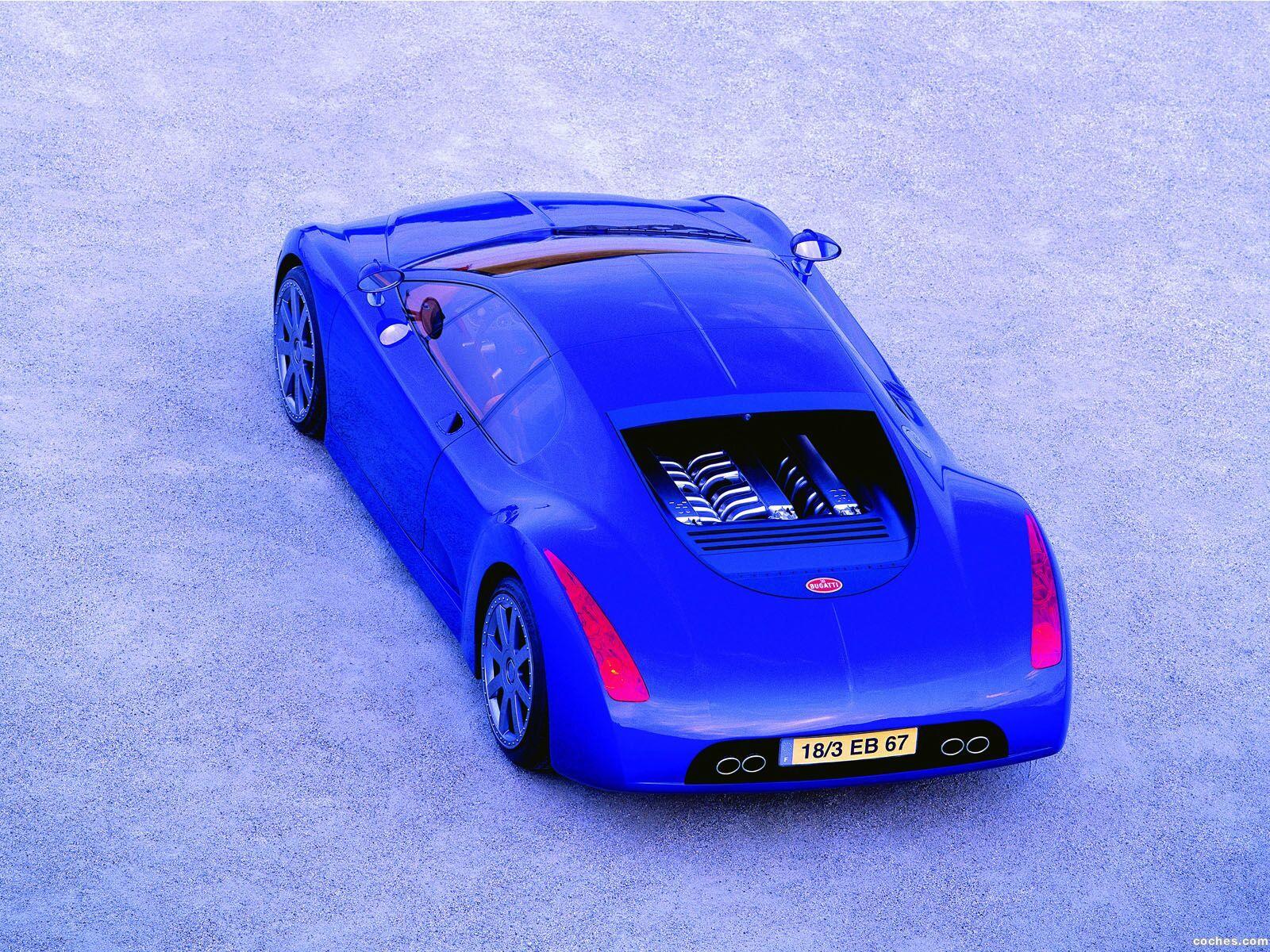 Foto 0 de Bugatti 18-3 Chiron Concept 1999