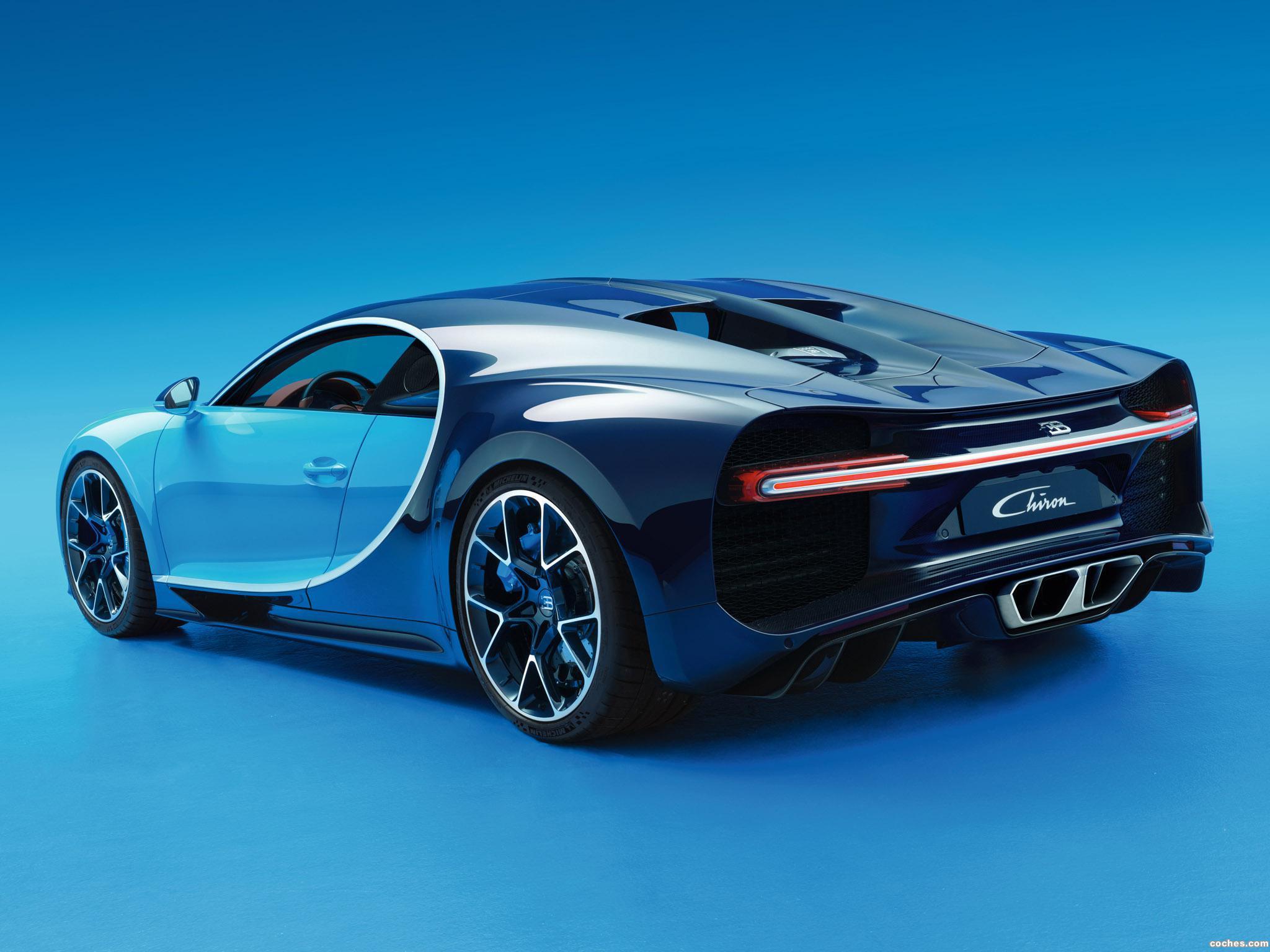 Foto 11 de Bugatti Chiron 2016