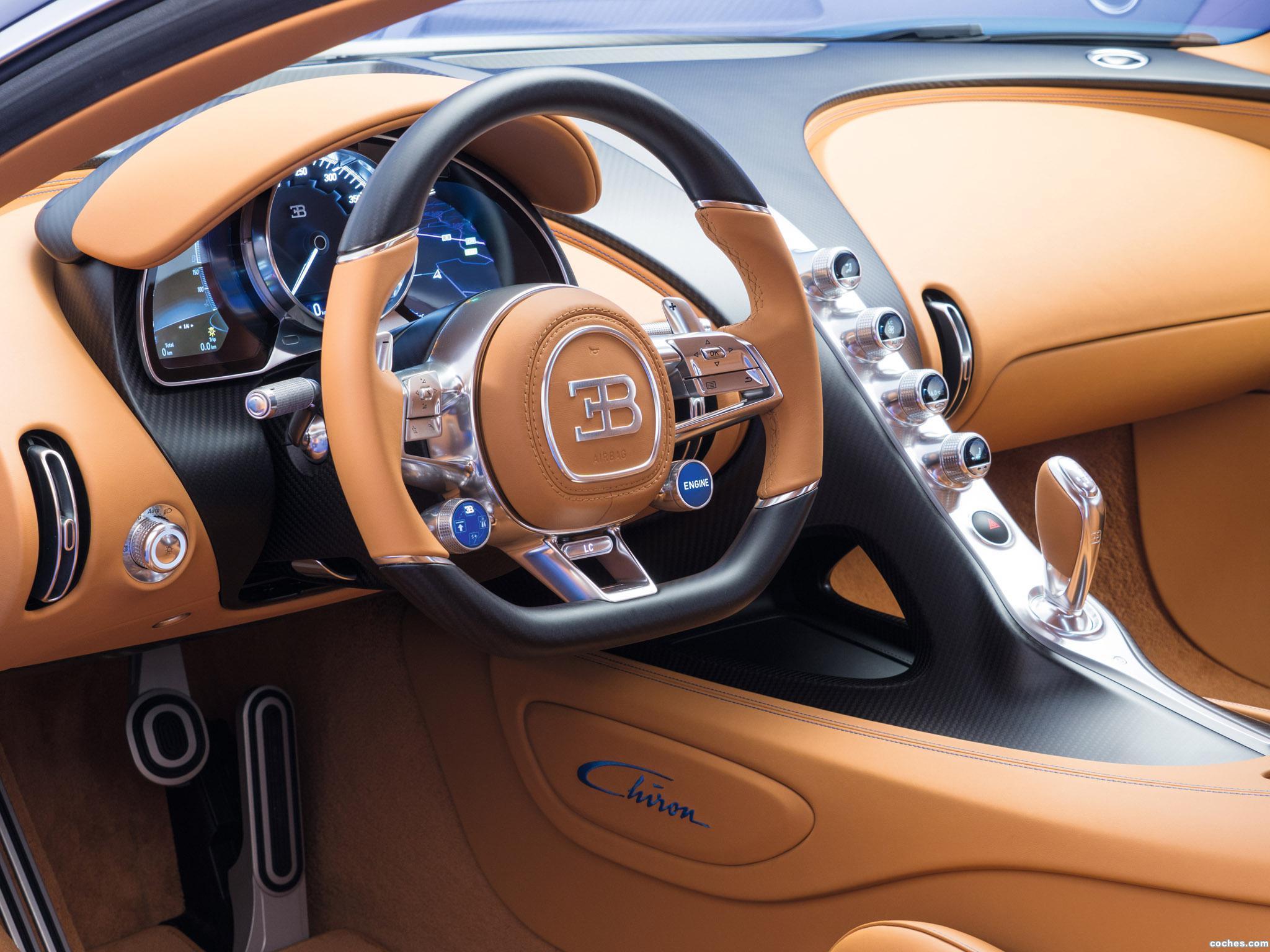 Foto 28 de Bugatti Chiron 2016