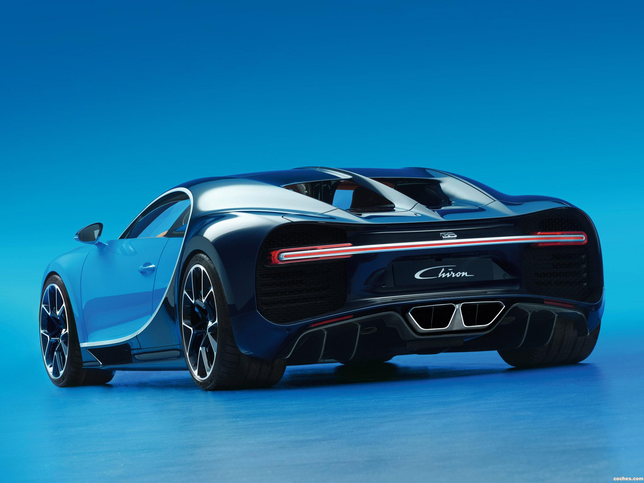 Foto 10 de Bugatti Chiron 2016
