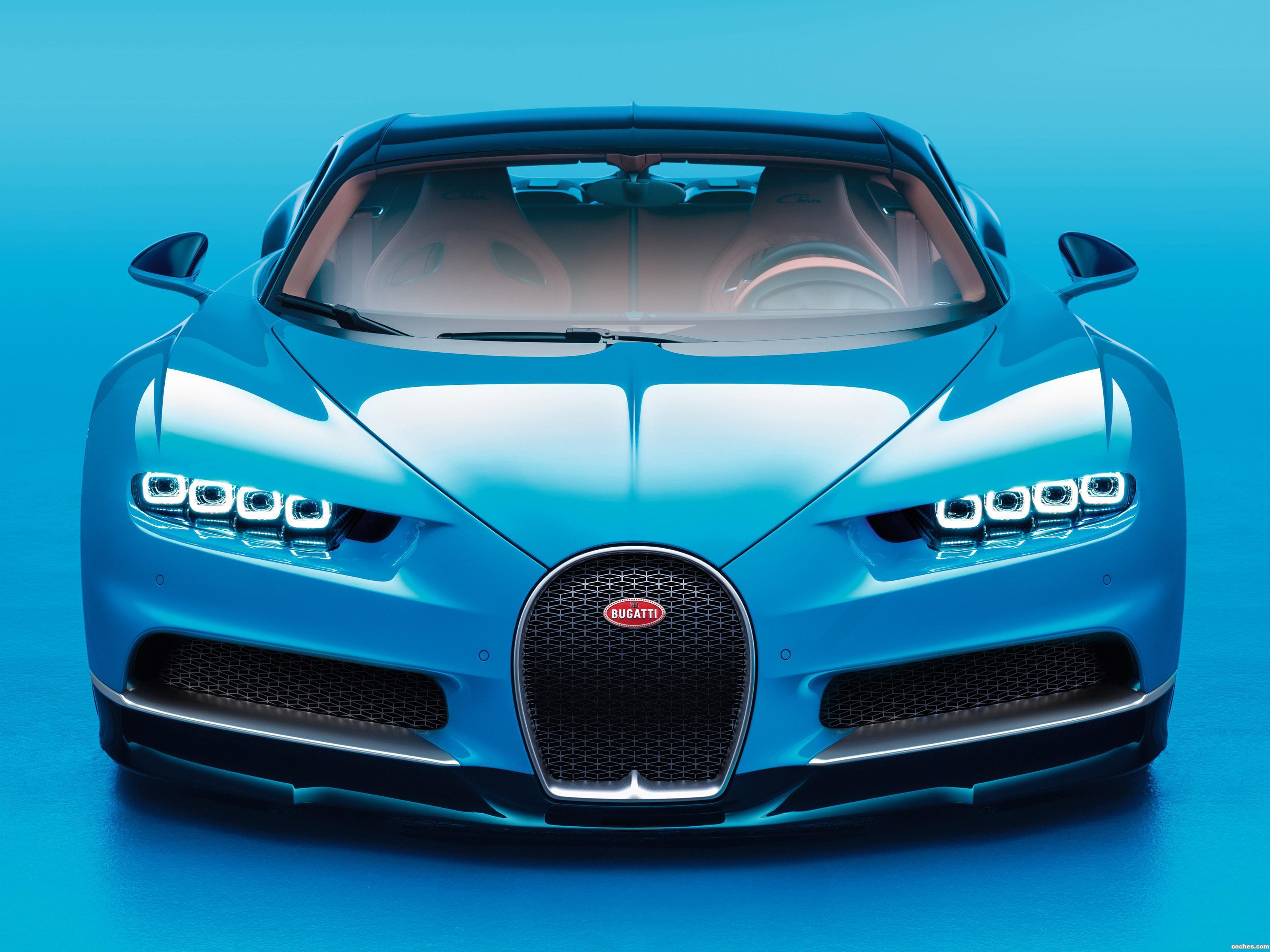Foto 0 de Bugatti Chiron 2016