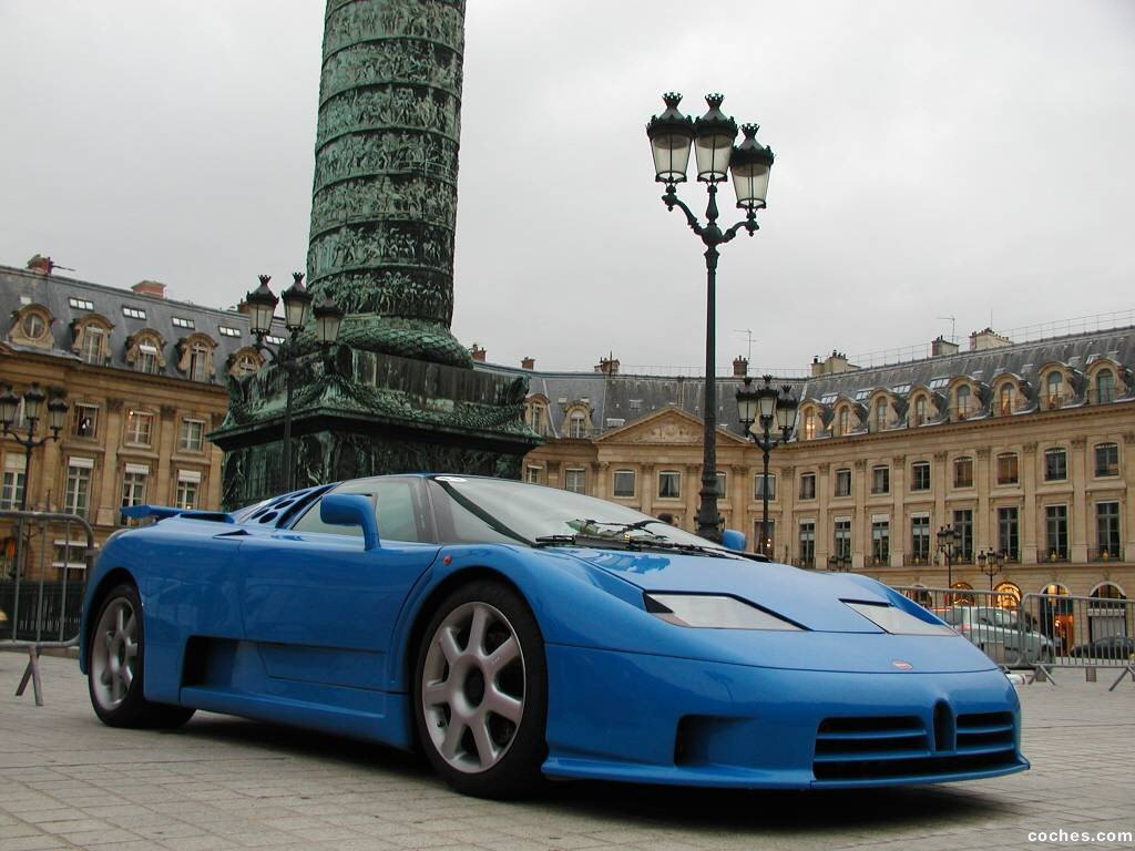 Foto 0 de Bugatti EB110 Supersport 1993