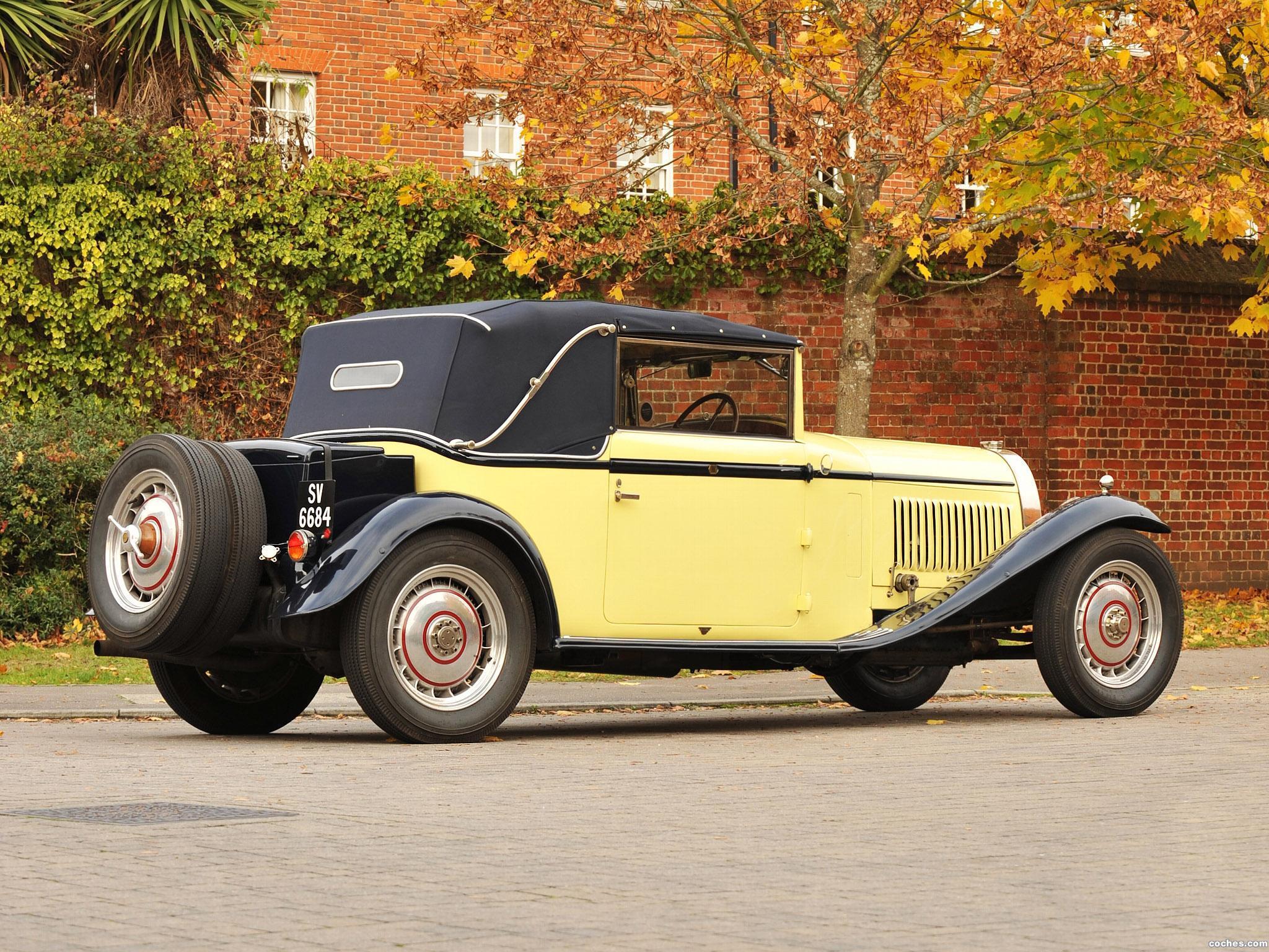Foto 4 de Bugatti Type 46 Cabriolet by Figoni 1930