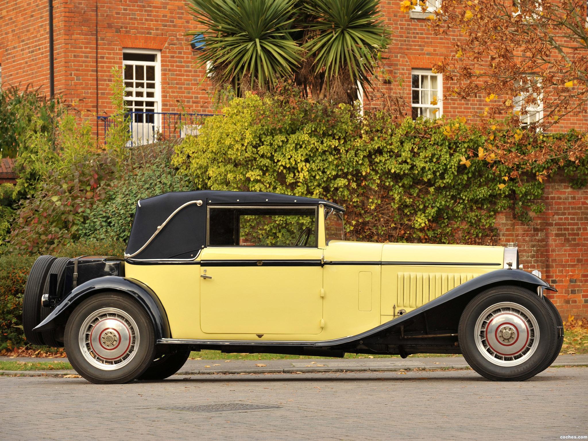 Foto 3 de Bugatti Type 46 Cabriolet by Figoni 1930