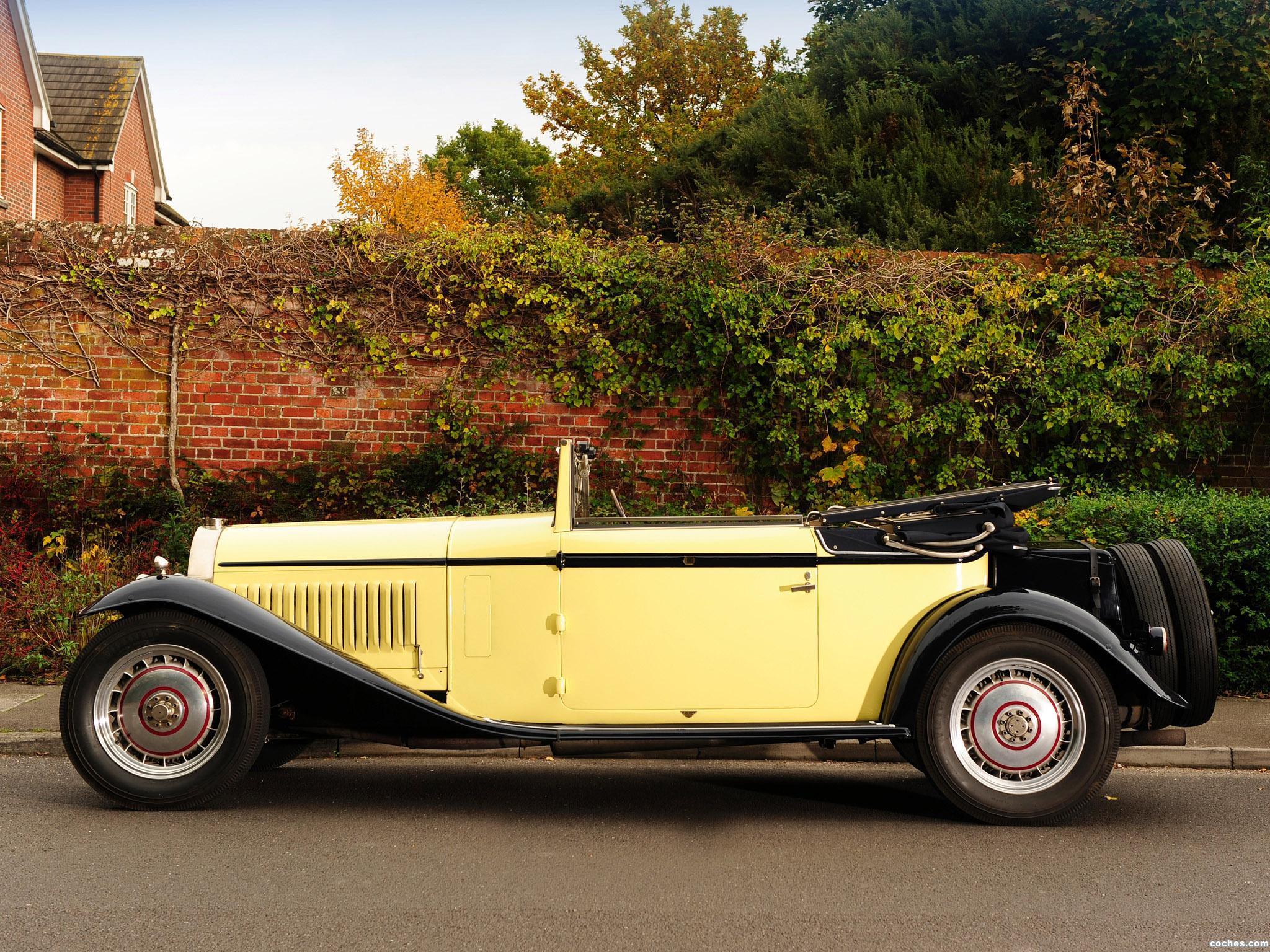 Foto 2 de Bugatti Type 46 Cabriolet by Figoni 1930