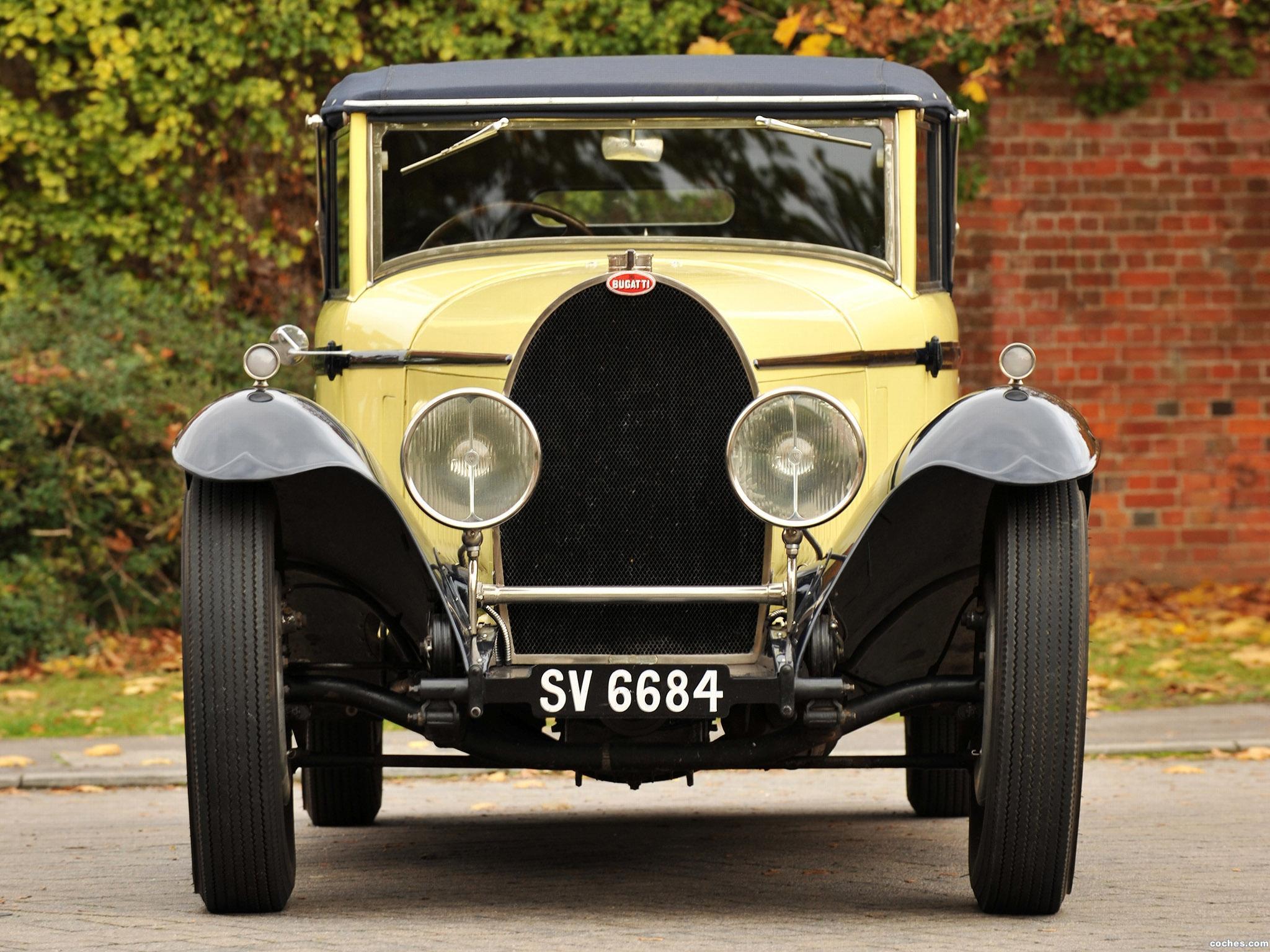 Foto 1 de Bugatti Type 46 Cabriolet by Figoni 1930
