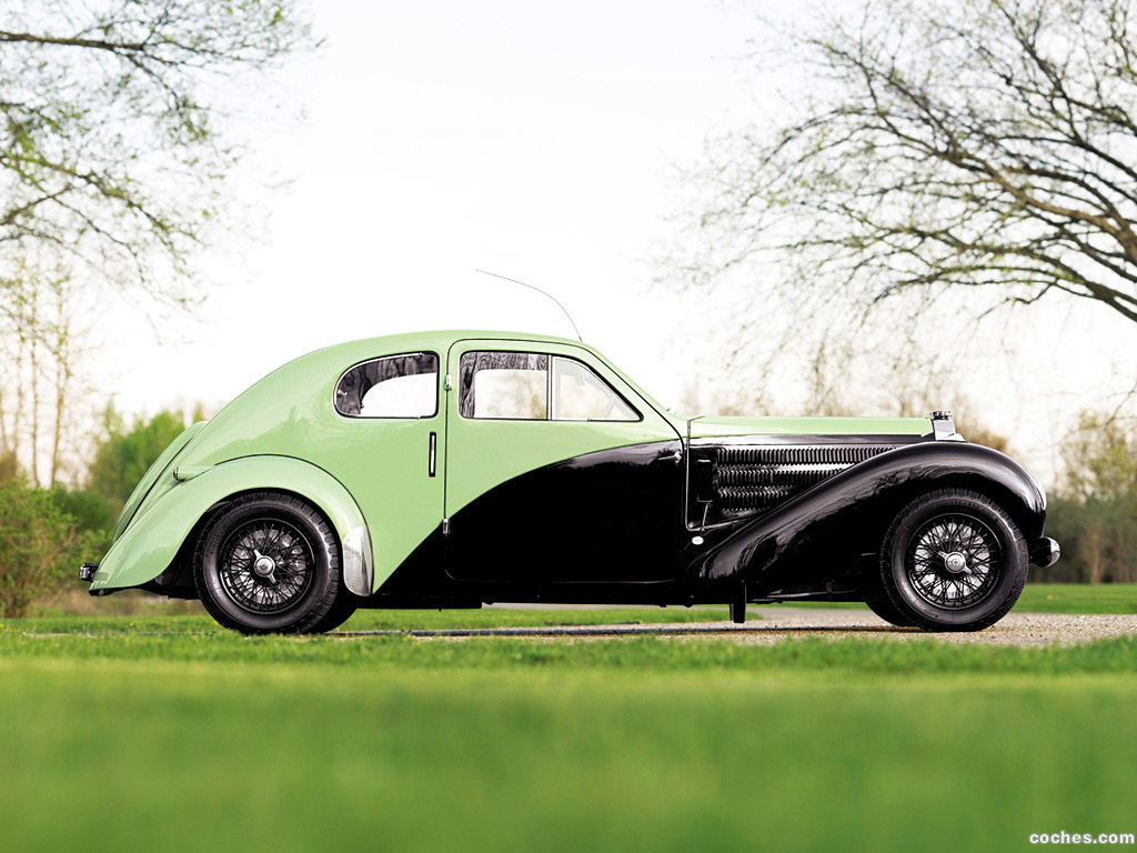 Foto 2 de Bugatti Type 57C Coupe Aerodynamique 1936