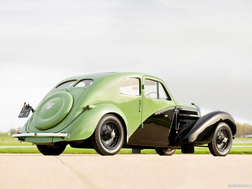 Foto 1 de Bugatti Type 57C Coupe Aerodynamique 1936