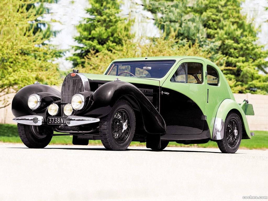 Foto 0 de Bugatti Type 57C Coupe Aerodynamique 1936