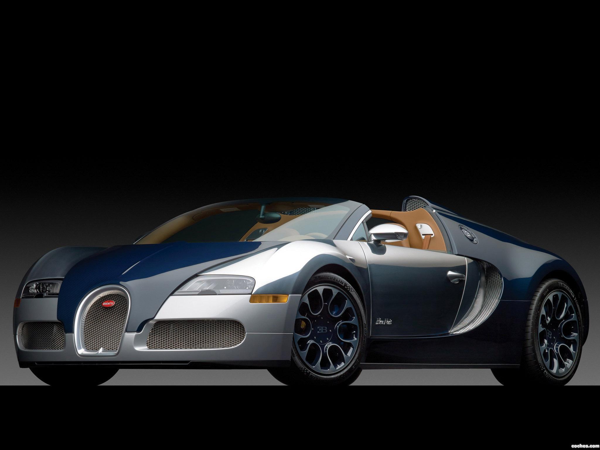 Foto 1 de Bugatti Veyron 16.4 Grand Sport Bleu Nuit 2011