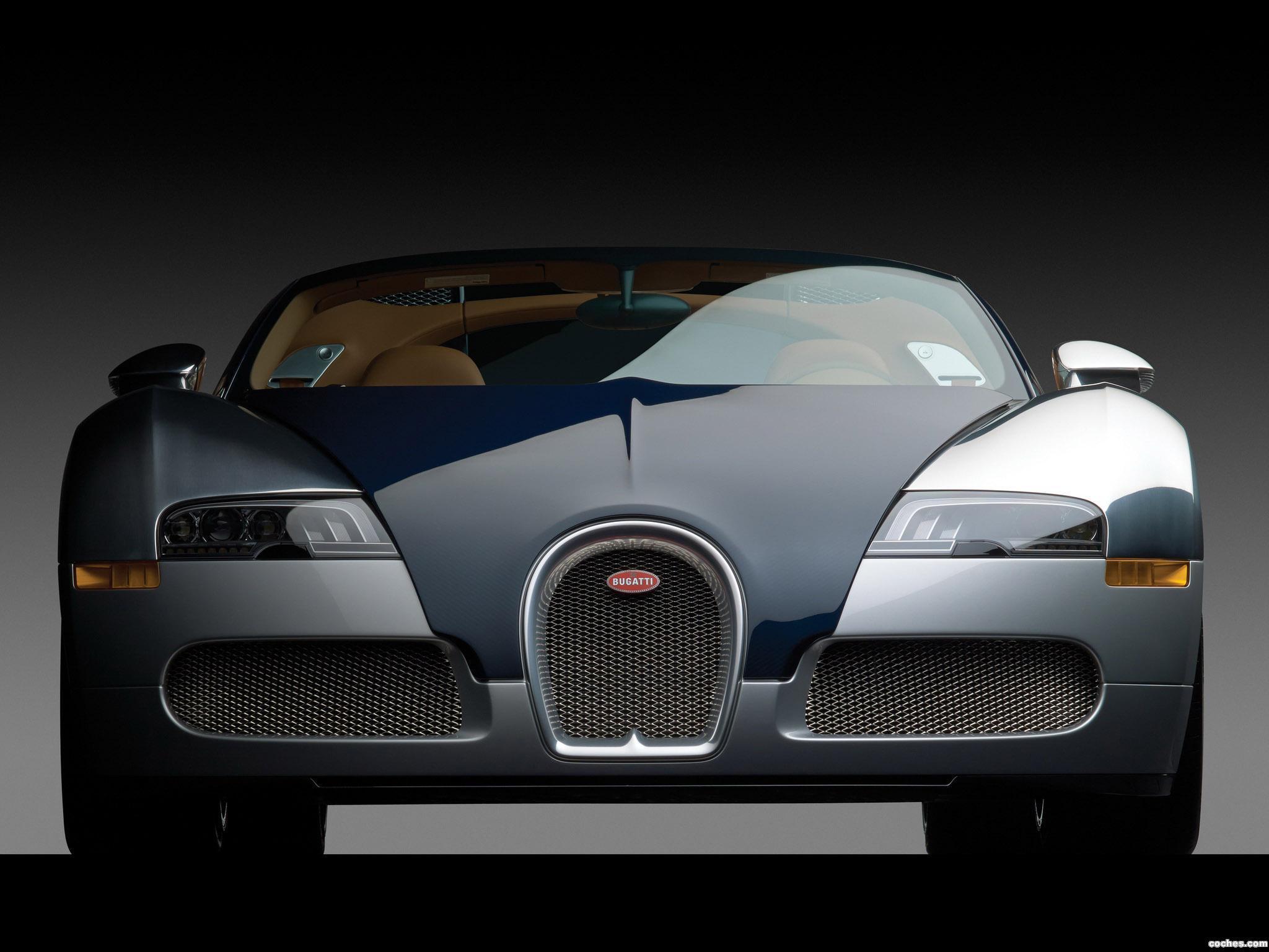 Foto 0 de Bugatti Veyron 16.4 Grand Sport Bleu Nuit 2011