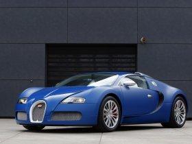 Fotos de Bugatti Veyron Bleu Centenaire 2009