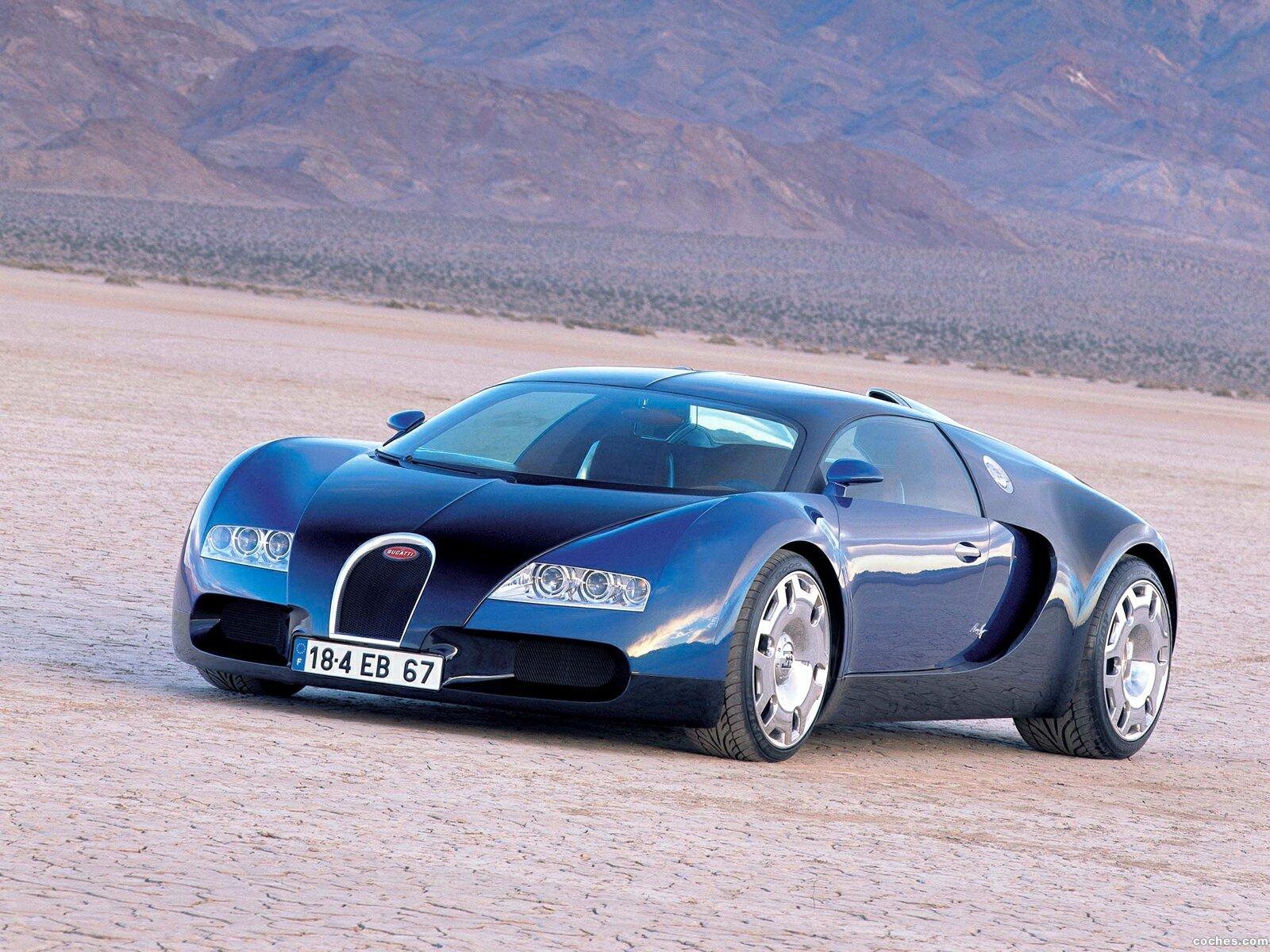 Foto 0 de Bugatti Veyron Concept 2004