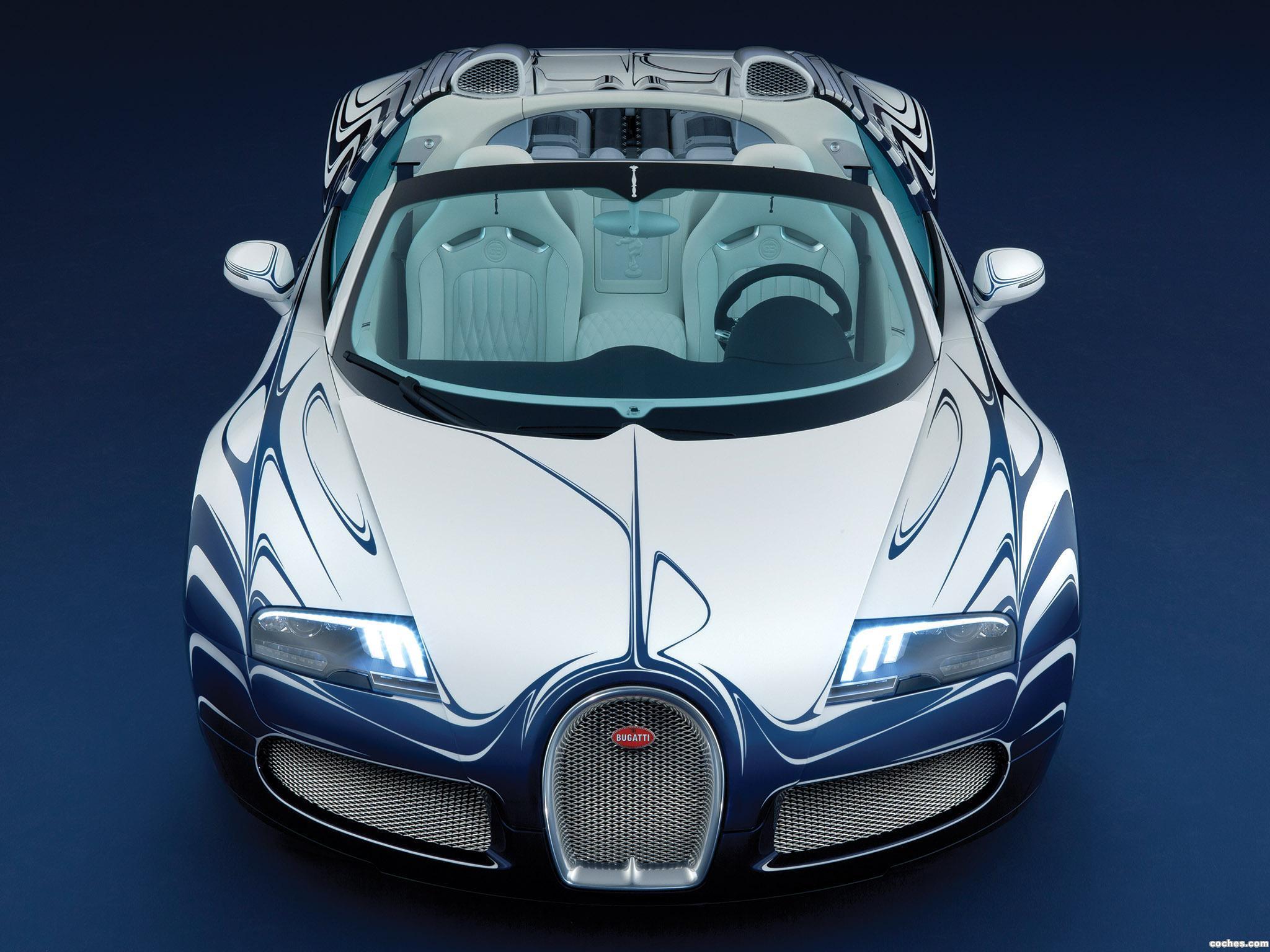 Foto 6 de Bugatti Veyron Grand Sport LOr Blanc 2011