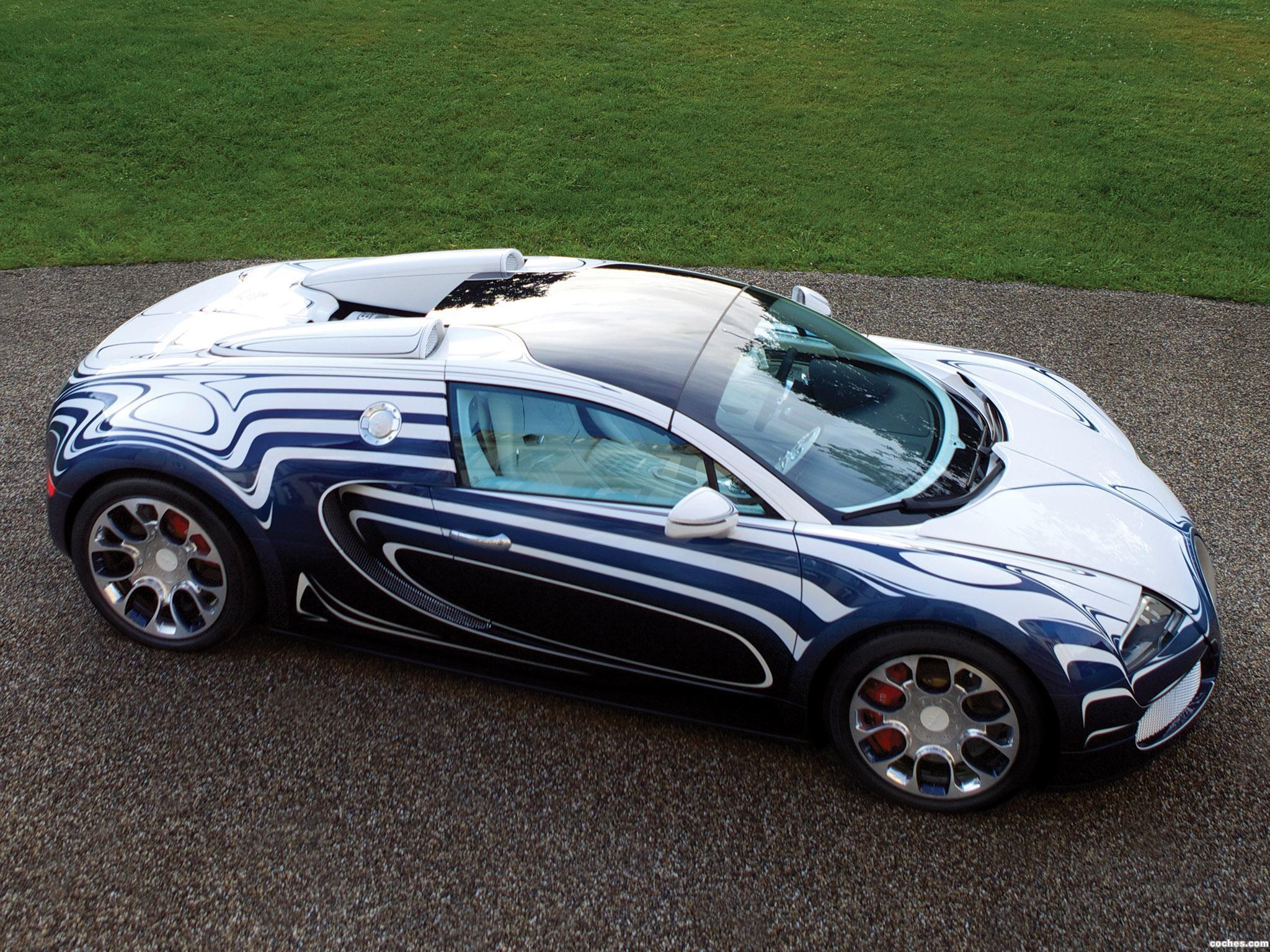 Foto 3 de Bugatti Veyron Grand Sport LOr Blanc 2011