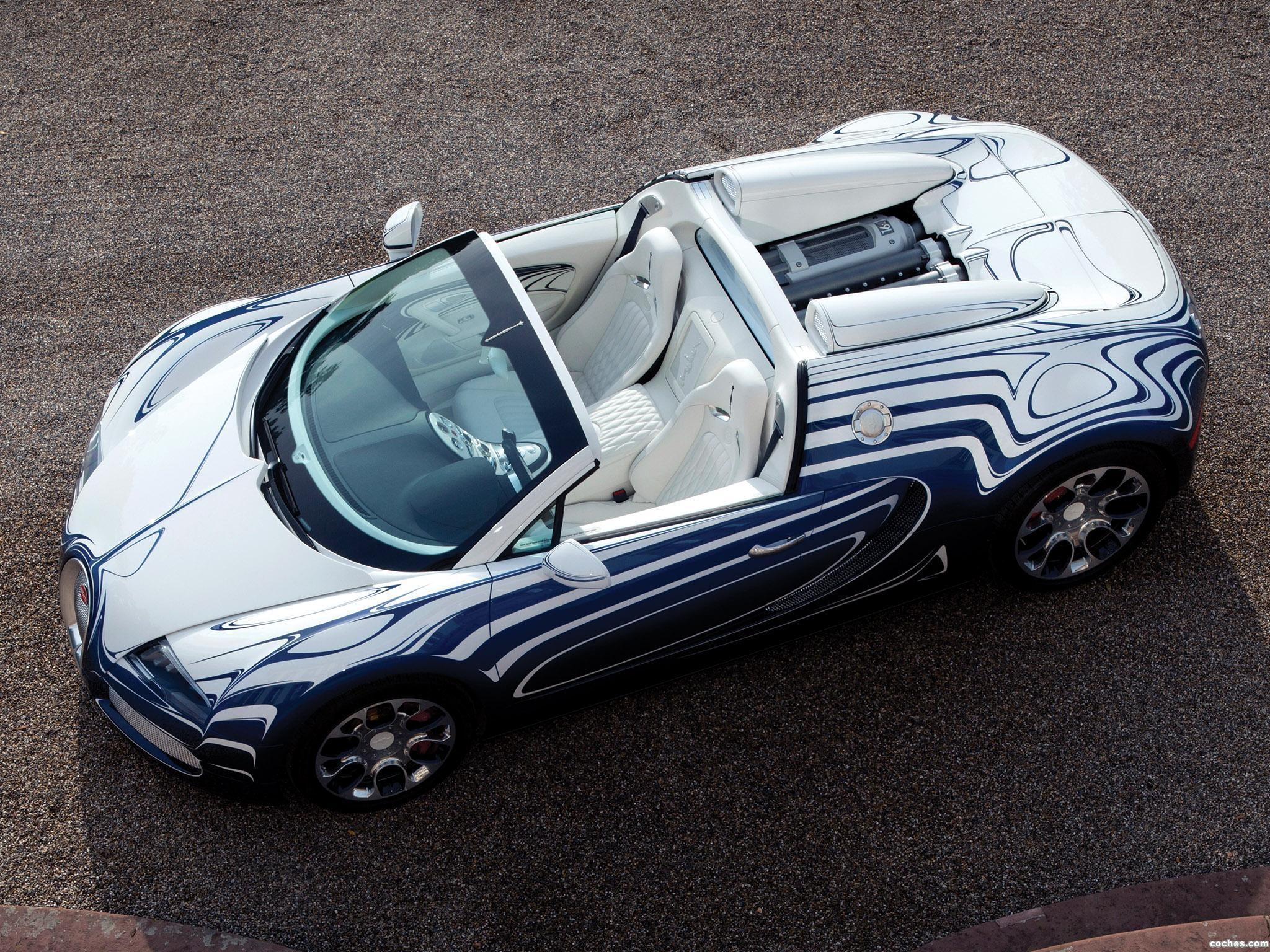Foto 2 de Bugatti Veyron Grand Sport LOr Blanc 2011
