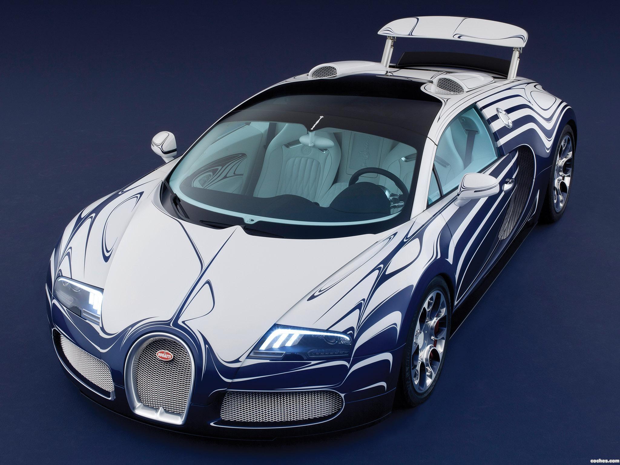 Foto 1 de Bugatti Veyron Grand Sport LOr Blanc 2011