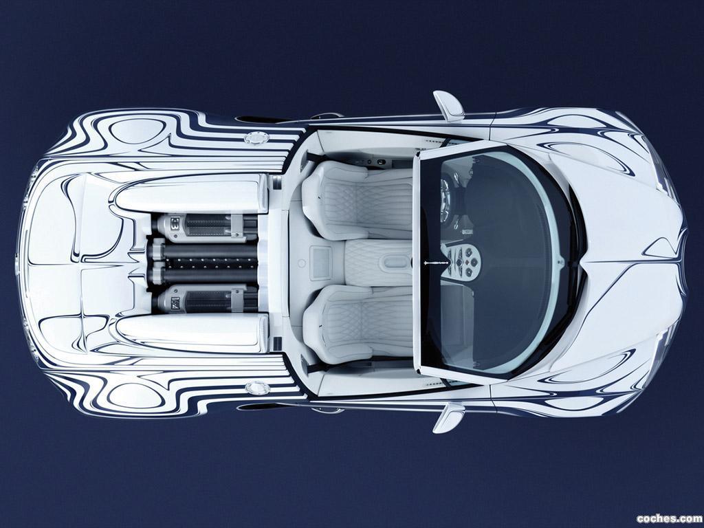 Foto 13 de Bugatti Veyron Grand Sport LOr Blanc 2011