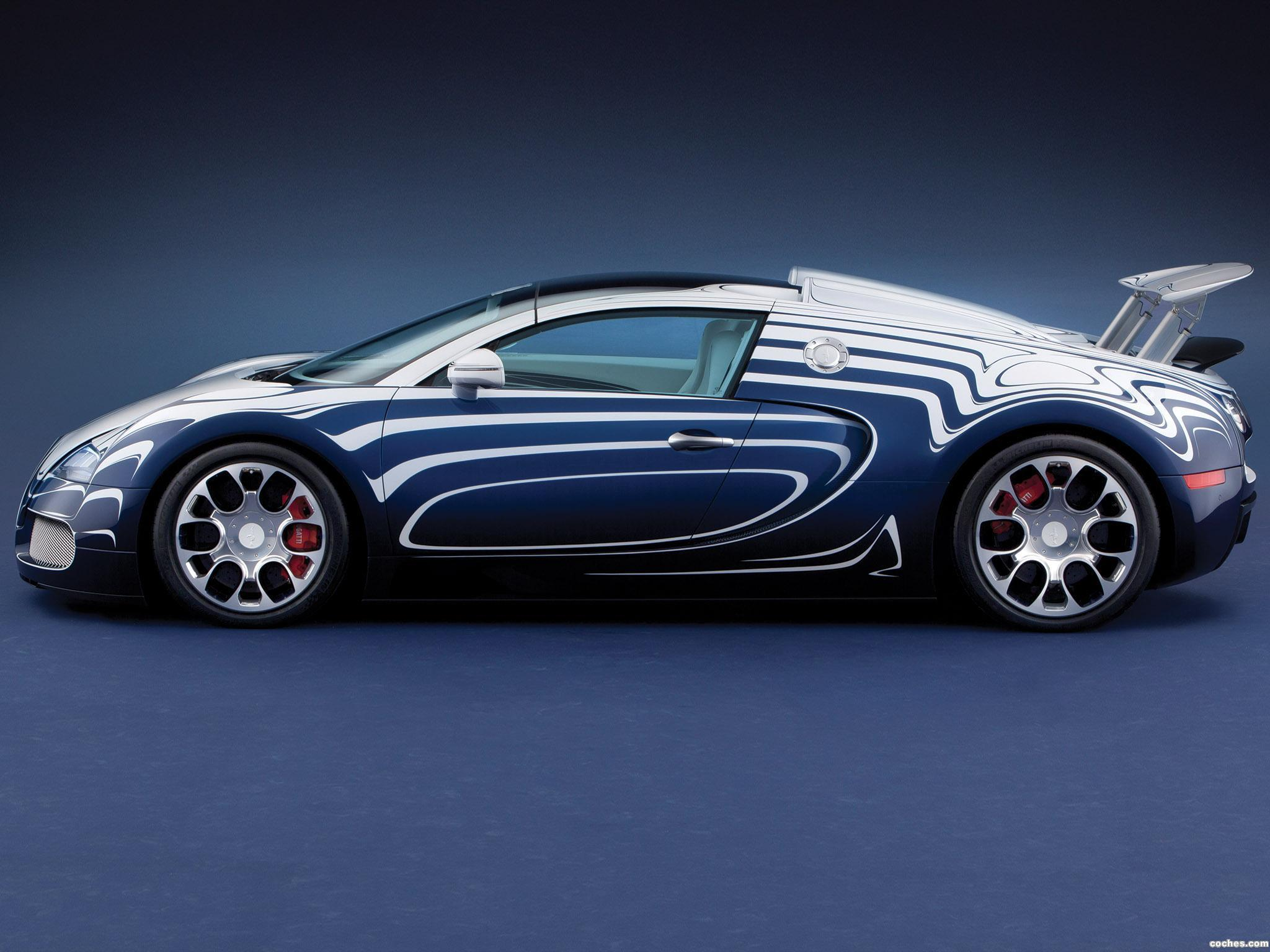 Foto 10 de Bugatti Veyron Grand Sport LOr Blanc 2011