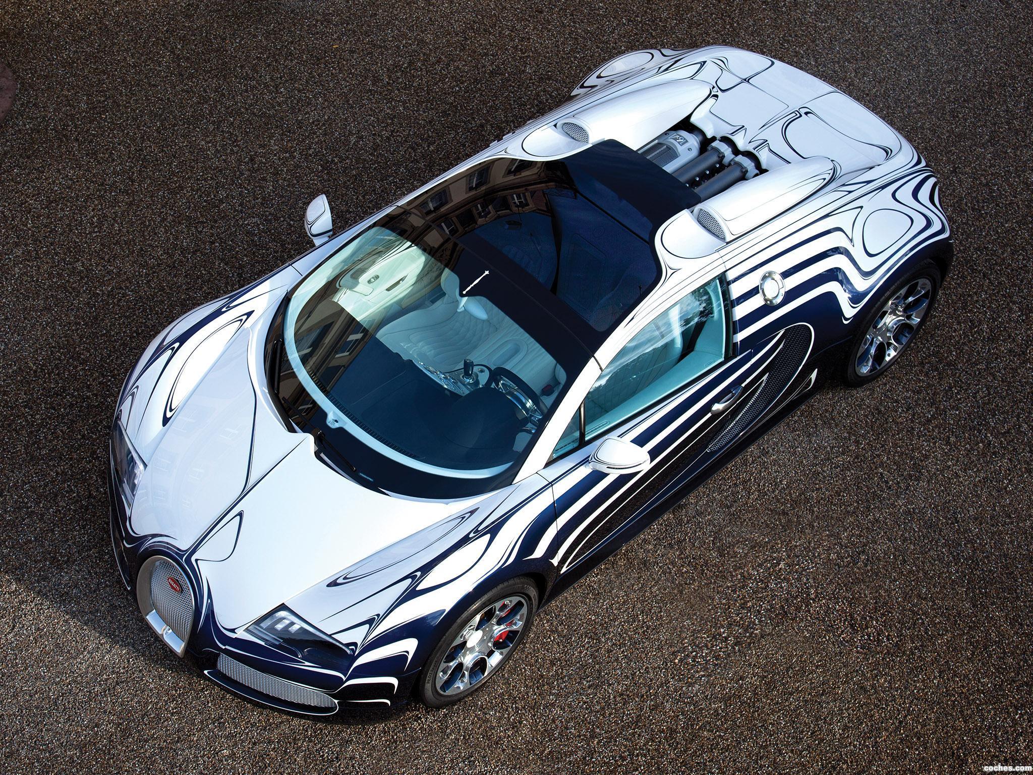 Foto 9 de Bugatti Veyron Grand Sport LOr Blanc 2011