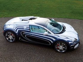 Ver foto 4 de Bugatti Veyron Grand Sport LOr Blanc 2011