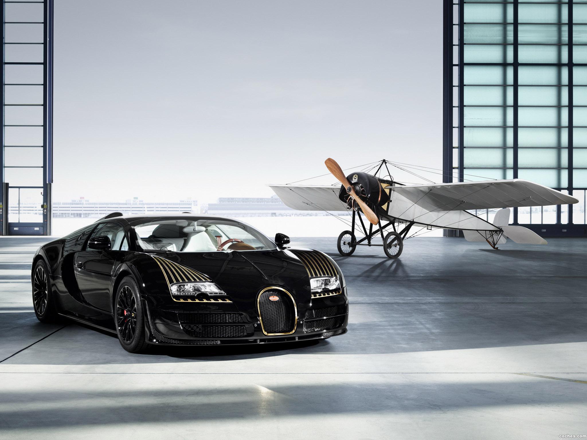 Foto 0 de Bugatti Veyron Grand Sport Roadster Vitesse Black Bess 2014