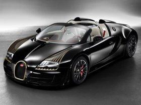 Ver foto 2 de Bugatti Veyron Grand Sport Roadster Vitesse Black Bess 2014