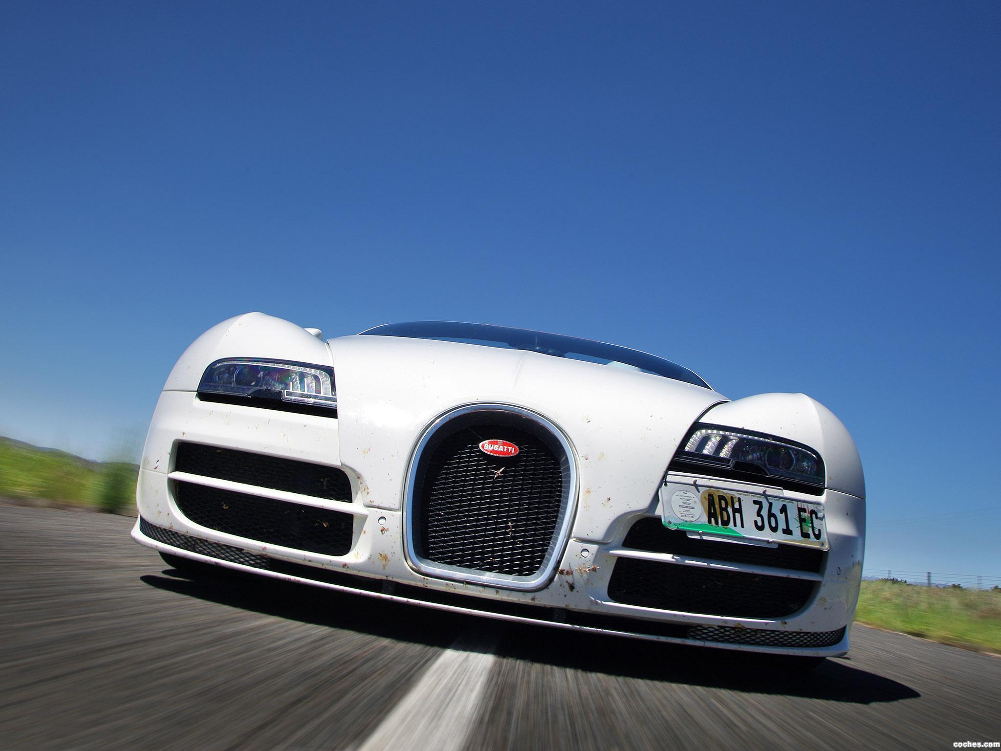 Foto 0 de Bugatti Veyron Grand Sport Roadster Vitesse Final Test Car 2012