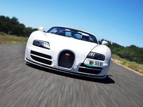 Ver foto 3 de Bugatti Veyron Grand Sport Roadster Vitesse Final Test Car 2012