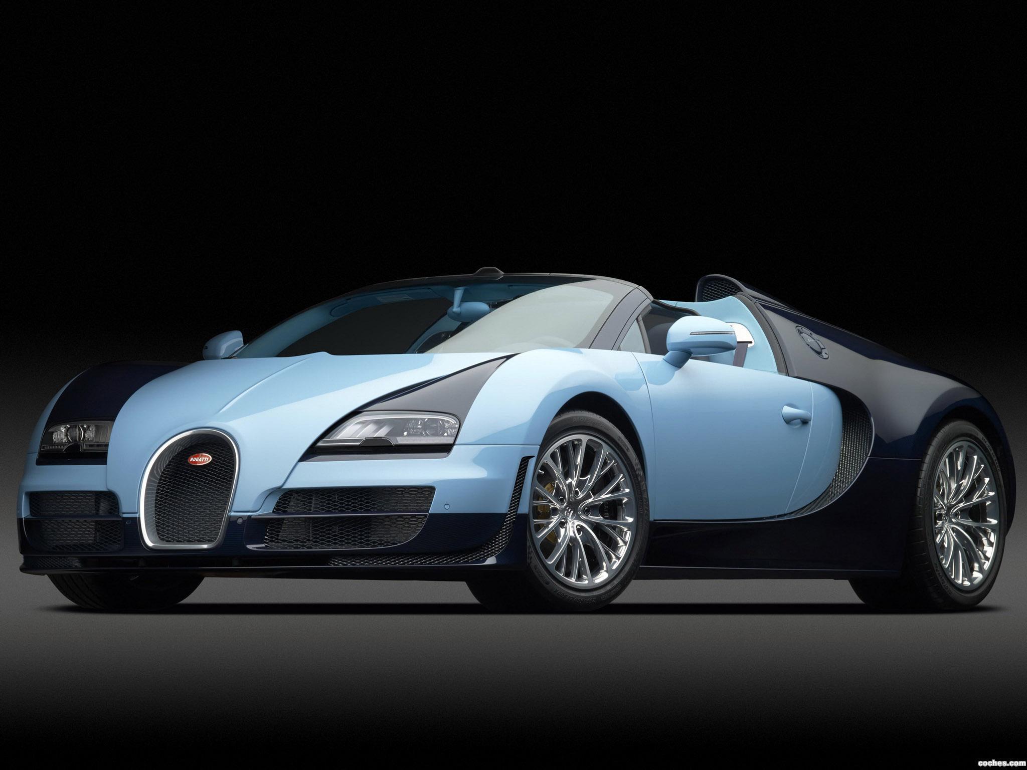 Foto 0 de Bugatti Veyron Grand Sport Roadster Vitesse JP Wimille 2013