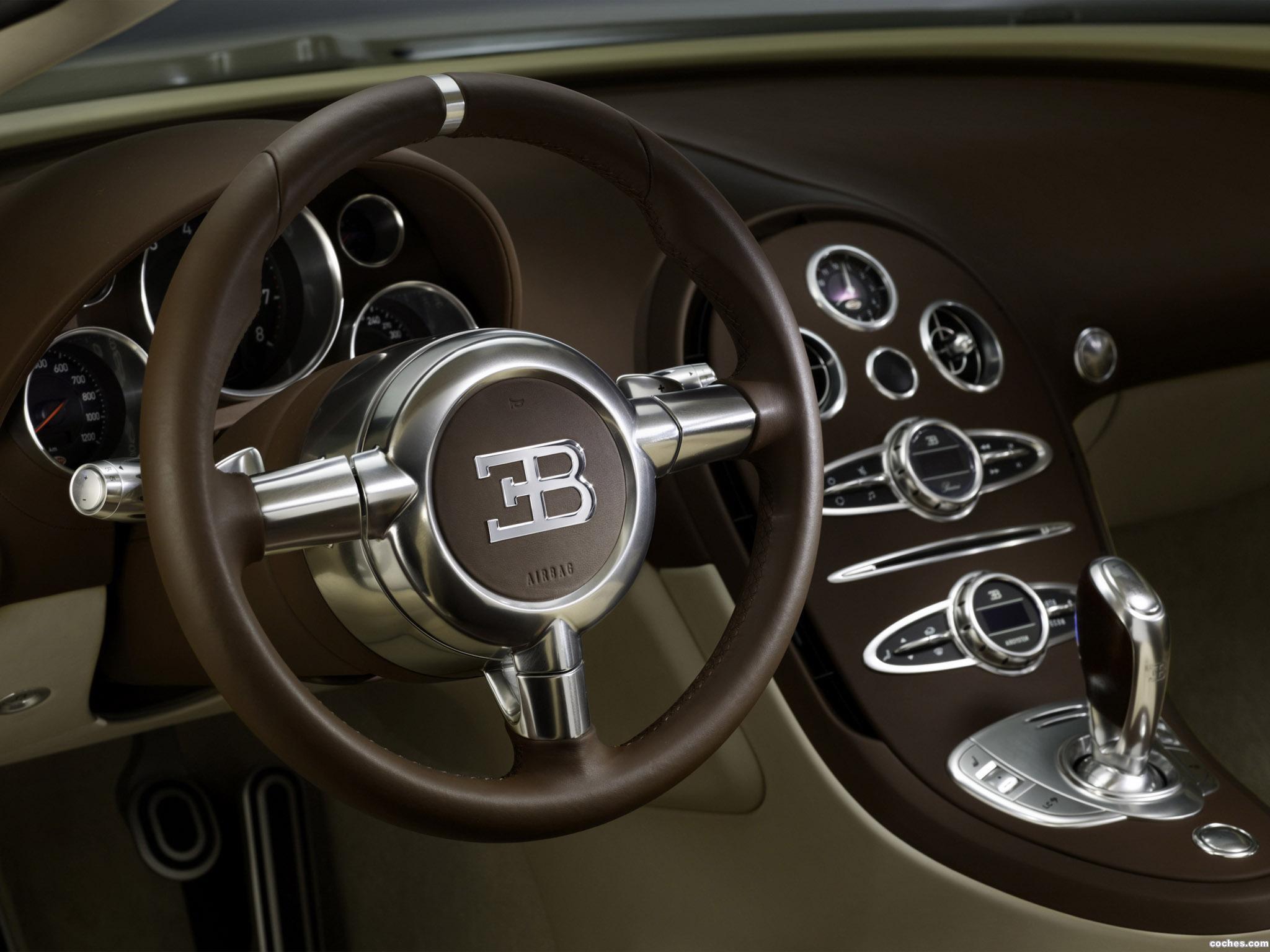 Foto 7 de Bugatti Veyron Grand Sport Roadster Vitesse Jean Bugatti 2013