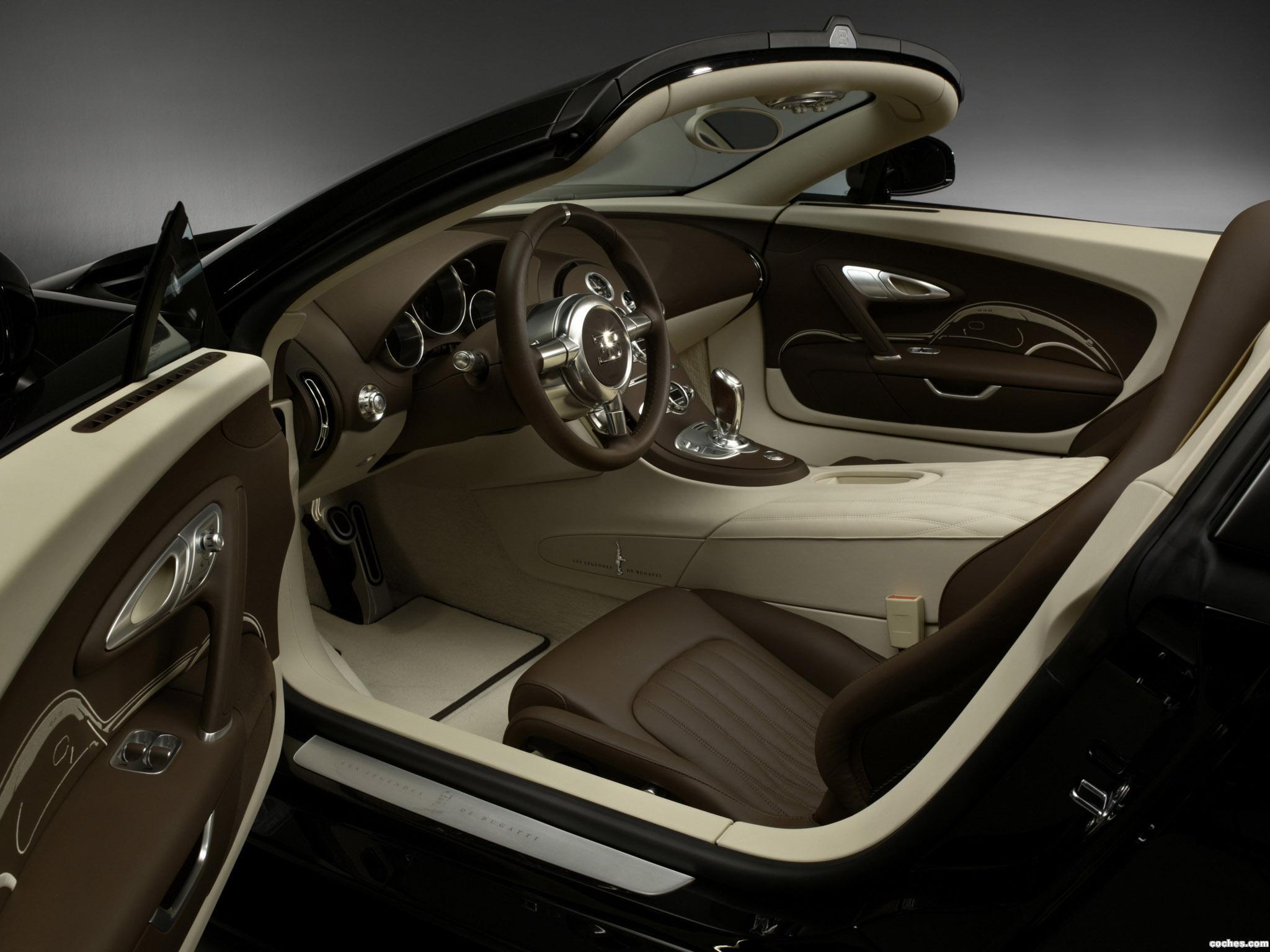 Foto 6 de Bugatti Veyron Grand Sport Roadster Vitesse Jean Bugatti 2013