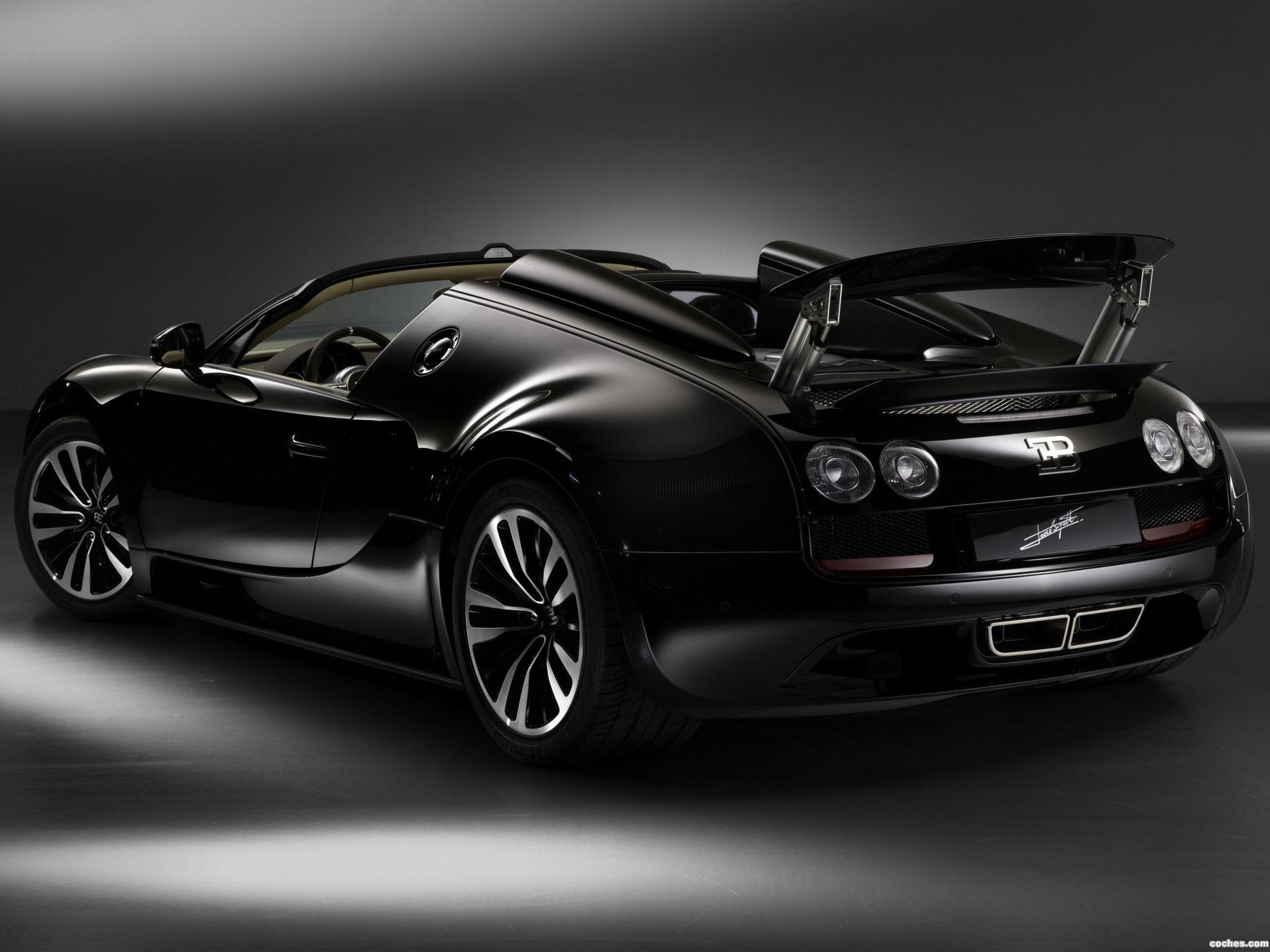 Foto 1 de Bugatti Veyron Grand Sport Roadster Vitesse Jean Bugatti 2013